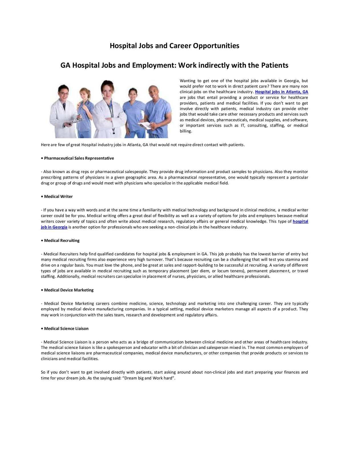 Calamo Hospital Jobs And Career Opportunities