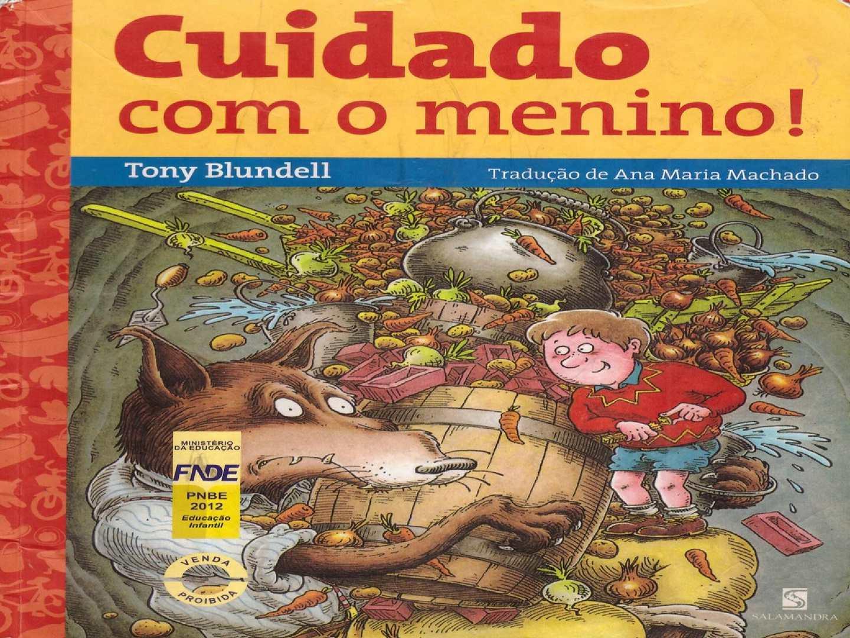 Livro CUIDADO COM O MENINO