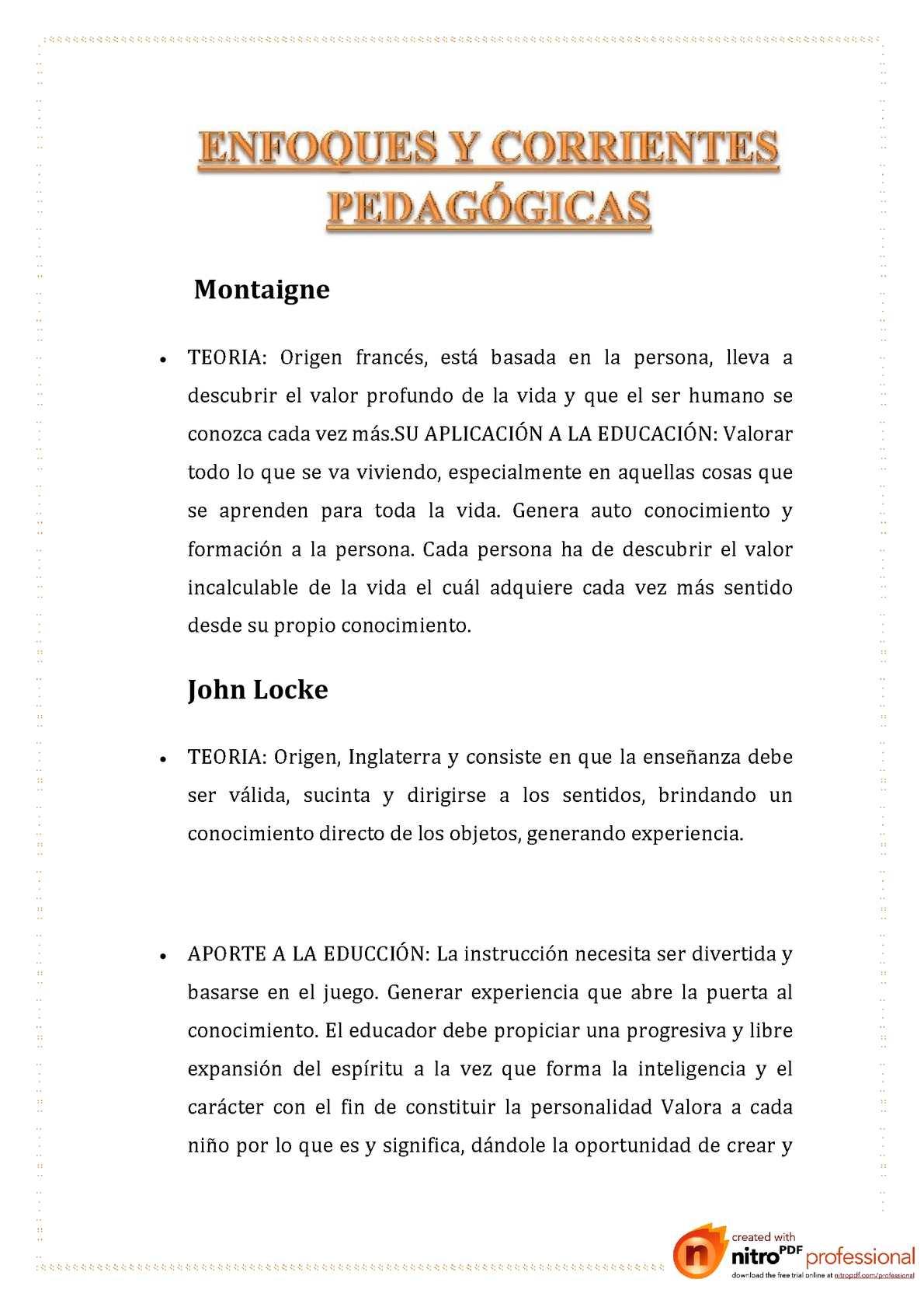 corrientes pedagogicas 3- Irma Valdizan Tacuche