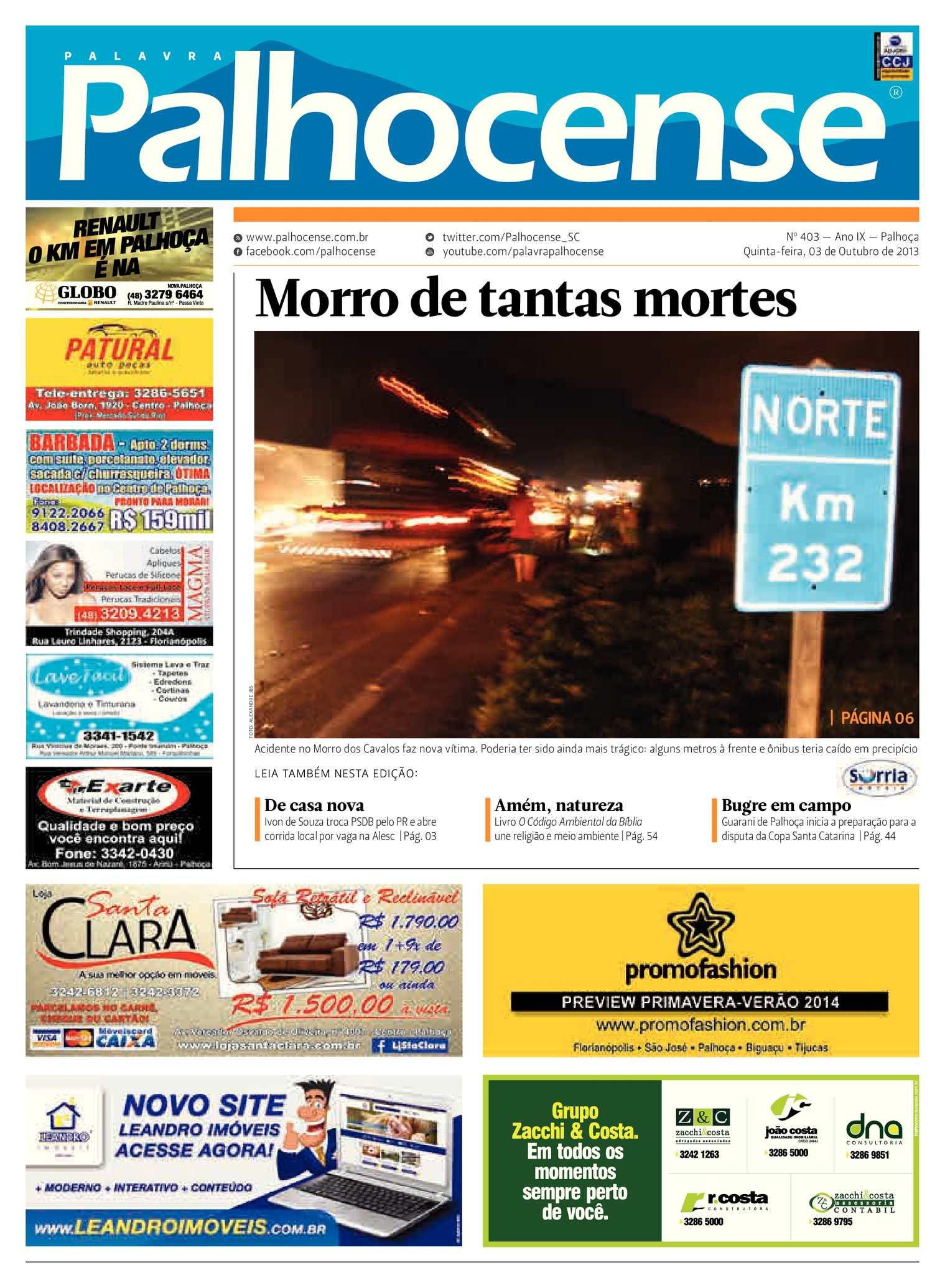 Calaméo - Jornal Palavra Palhocense - Edição 403 54dbc3b874c75