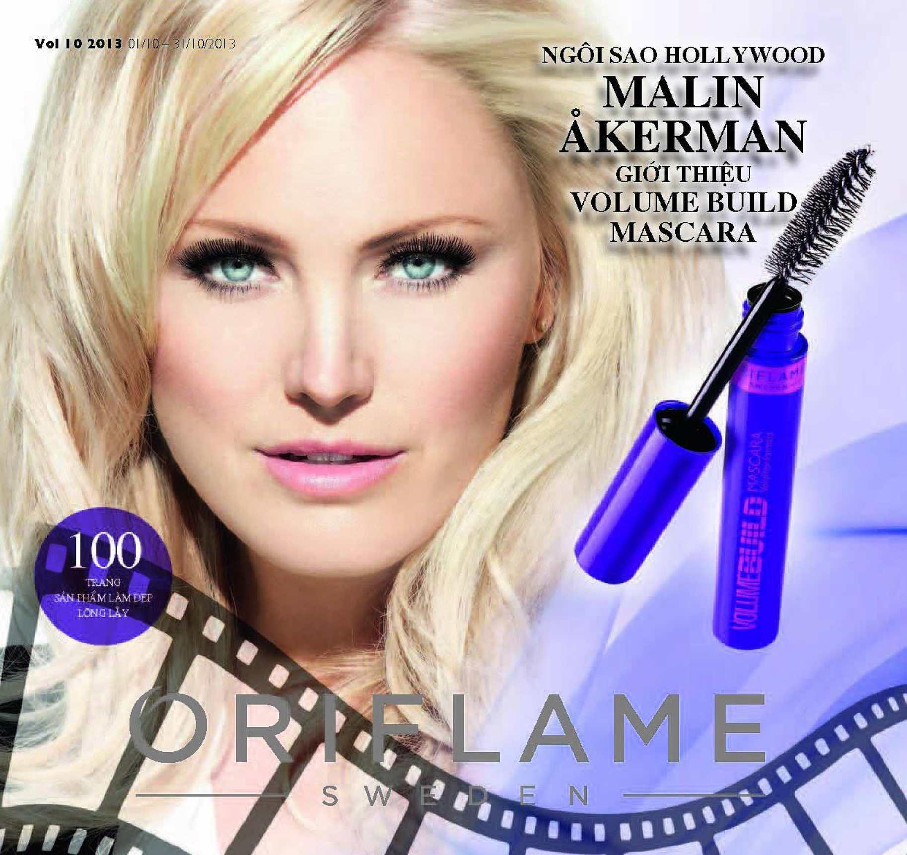 Catalogue My Pham Oriflame 10-2013