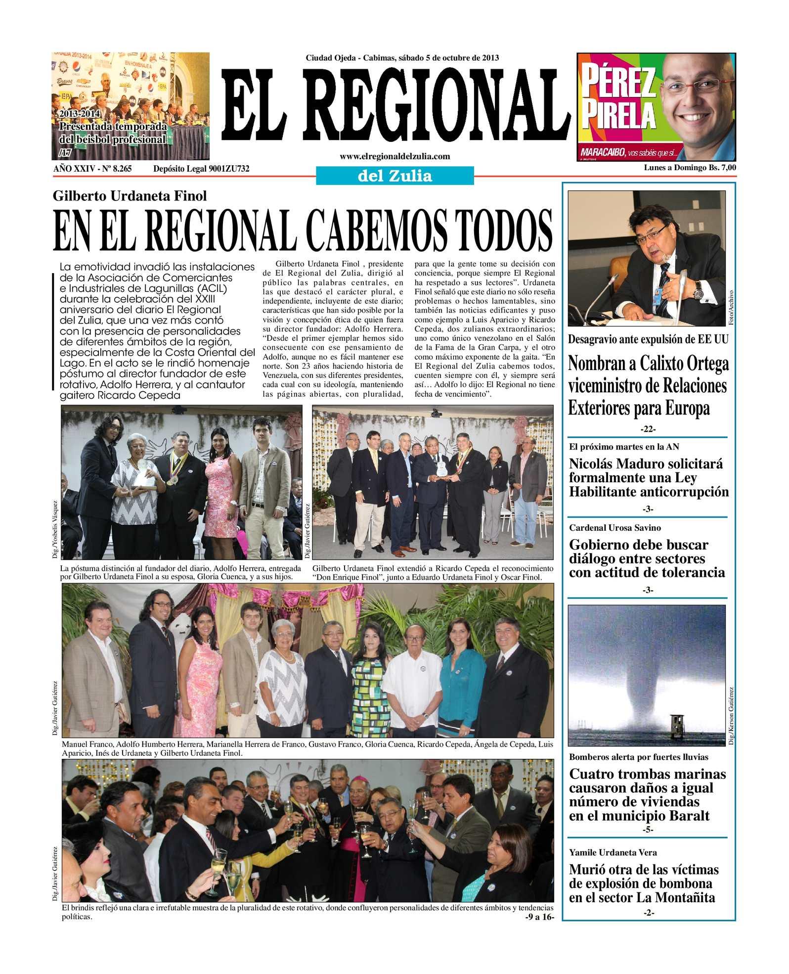 Calaméo - El Regional del Zulia 05-10-2013