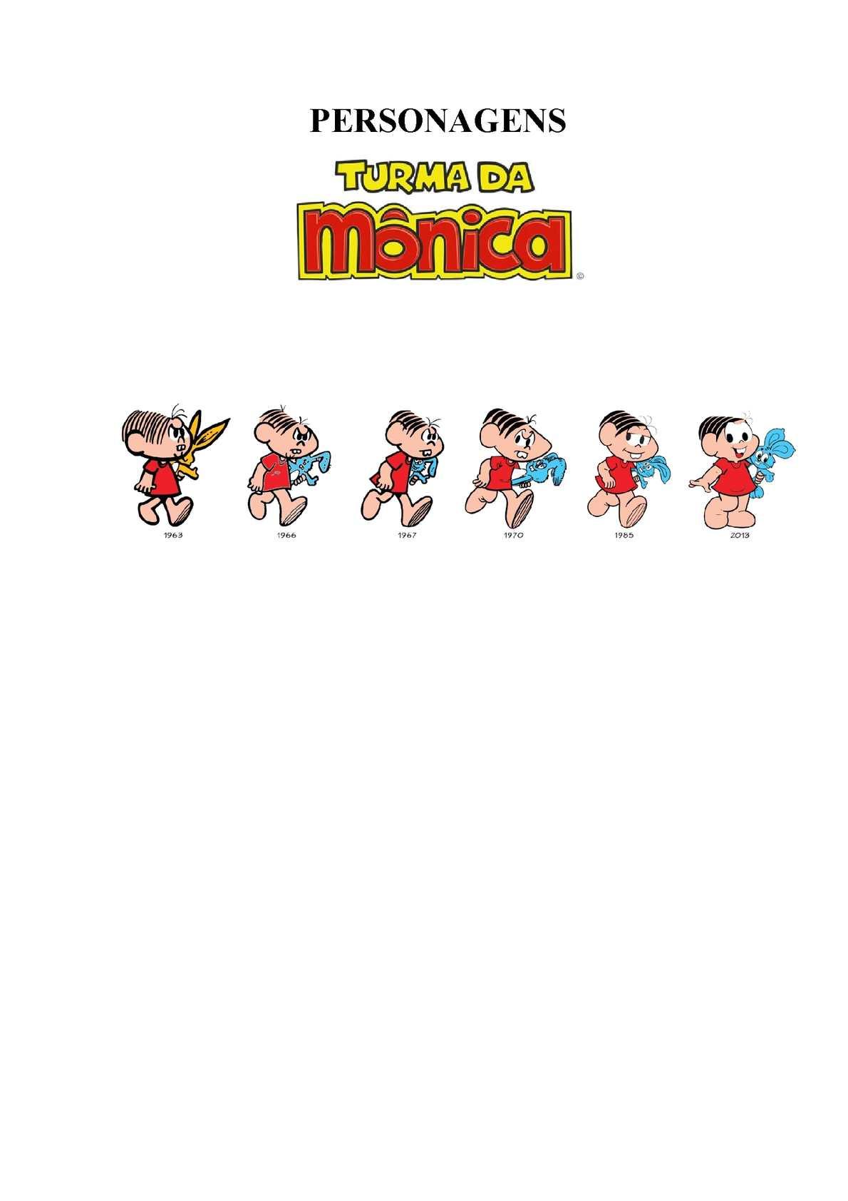 Turma da Mônica - Personagens