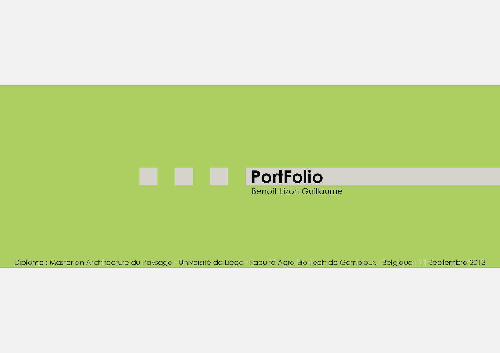 Calam o portfolio benoit lizon guillaume architecte for Architecte paysagiste formation
