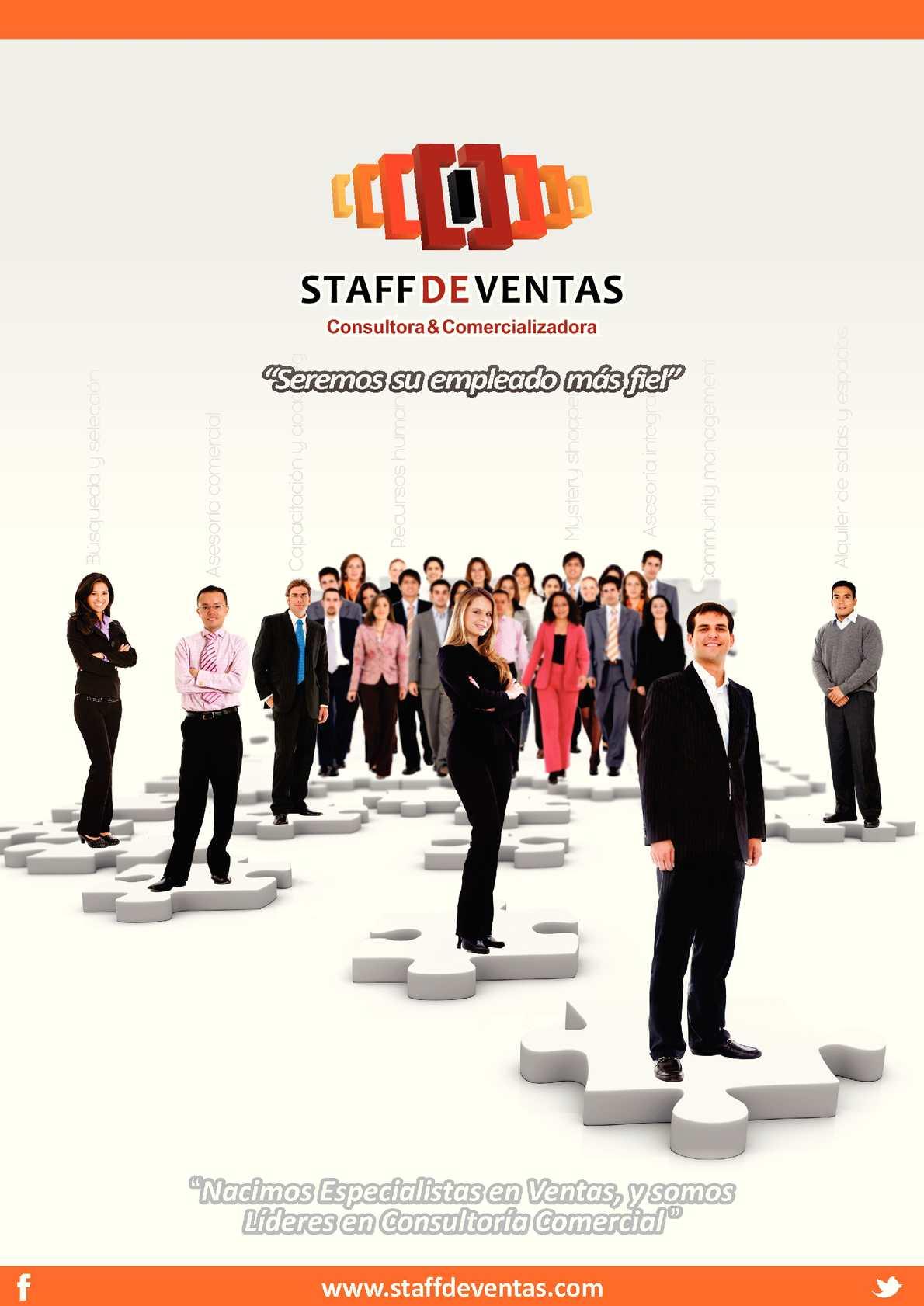Presentacion STAFF DE VENTAS