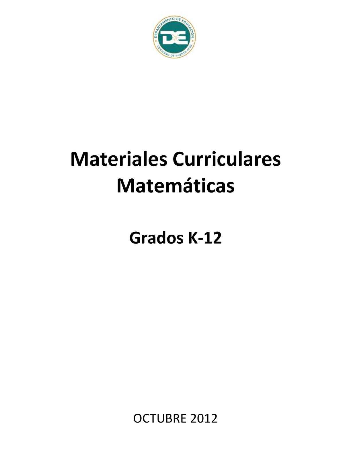 Calaméo - Mapa Matematicas 7-9