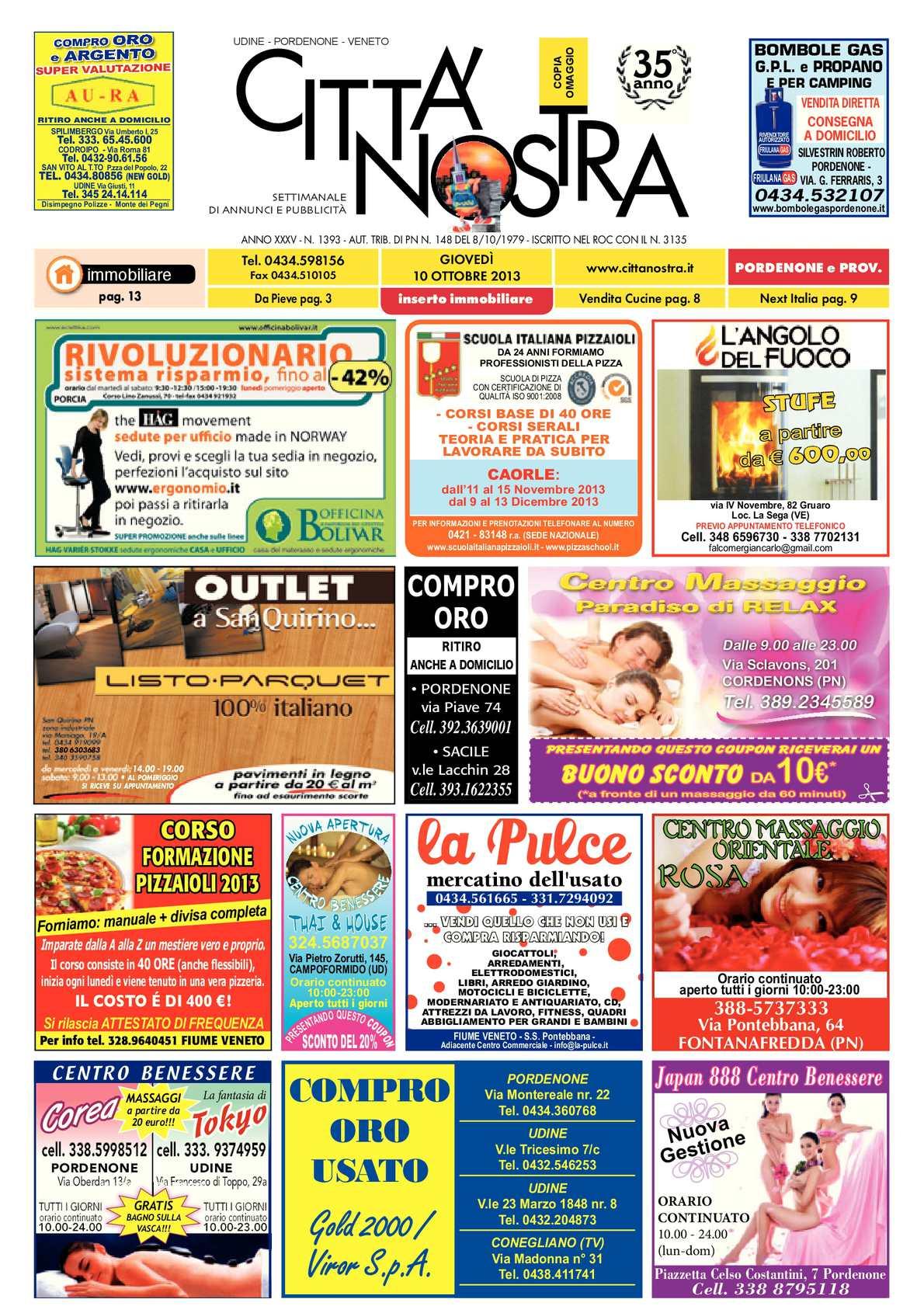 10 Pordenone Nostra 10 Del 2013 1393 N Calaméo Città fPRqwxI