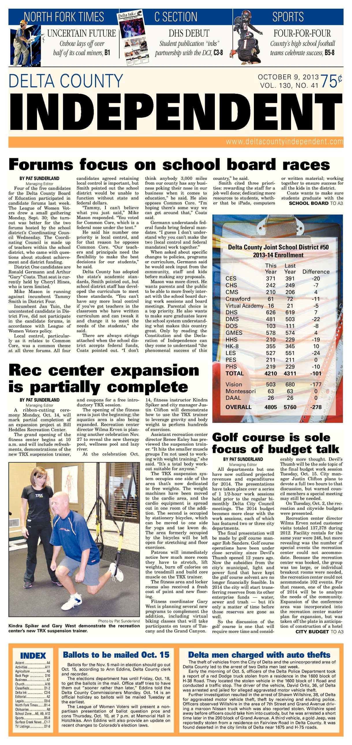 Calaméo Delta County Independent Oct 9 2013