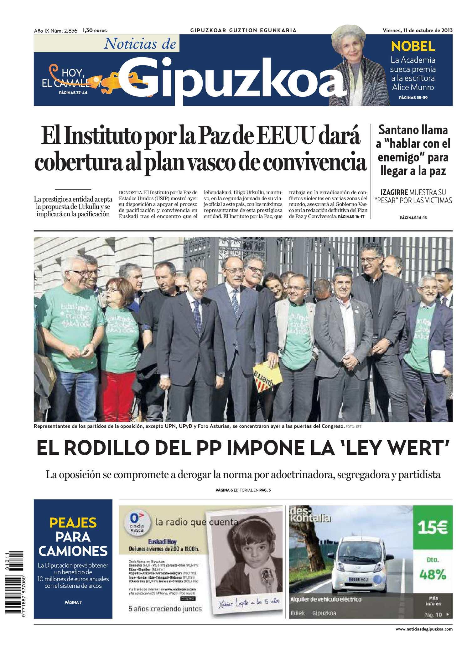 Calaméo - Noticias de Gipuzkoa 20131011