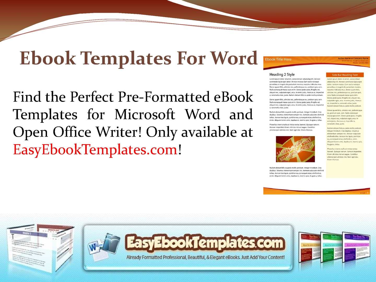 Calamo Microsoft Word Book Template