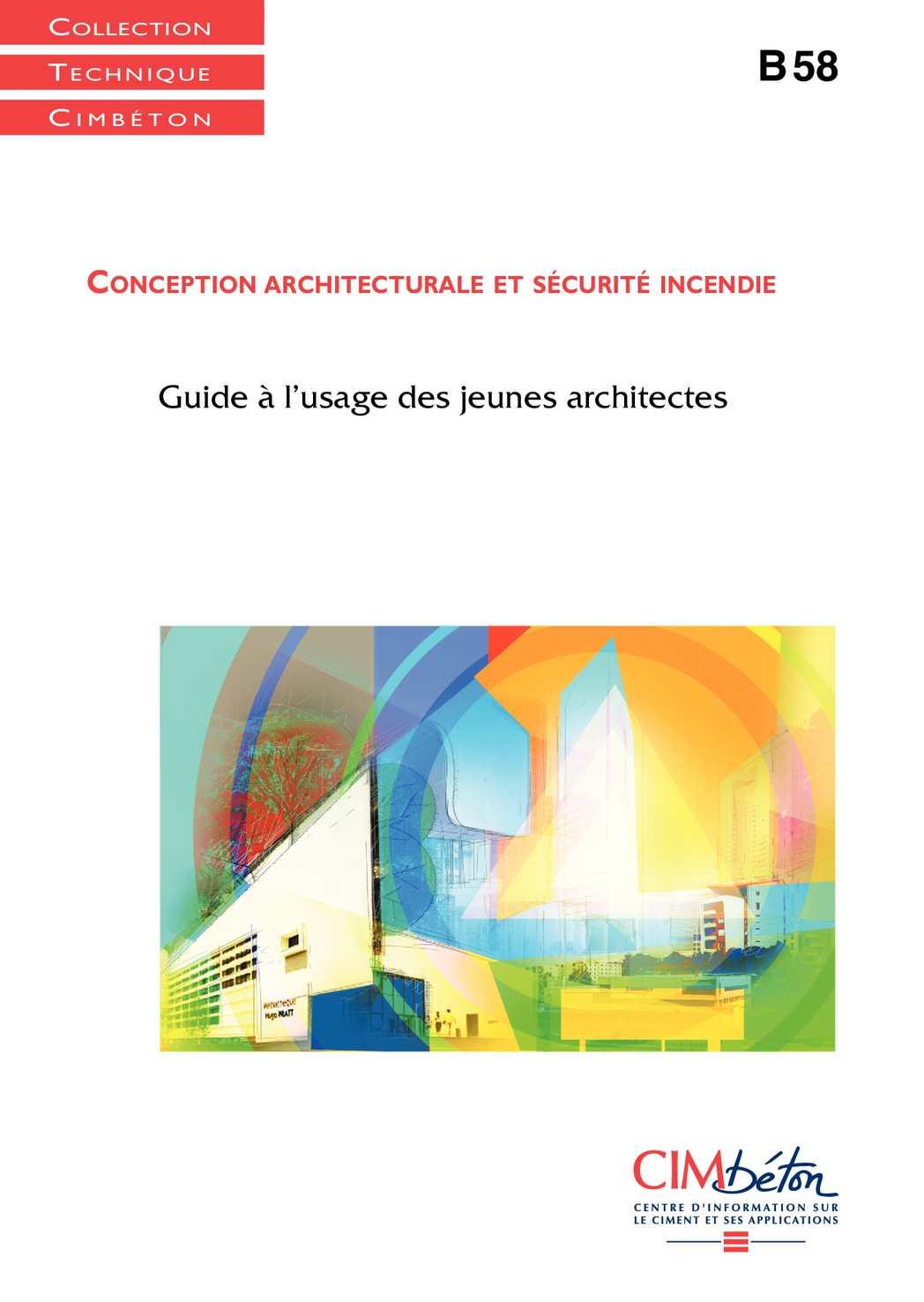 Calam o conception architecturale et s curit incendie for Conception architecturale
