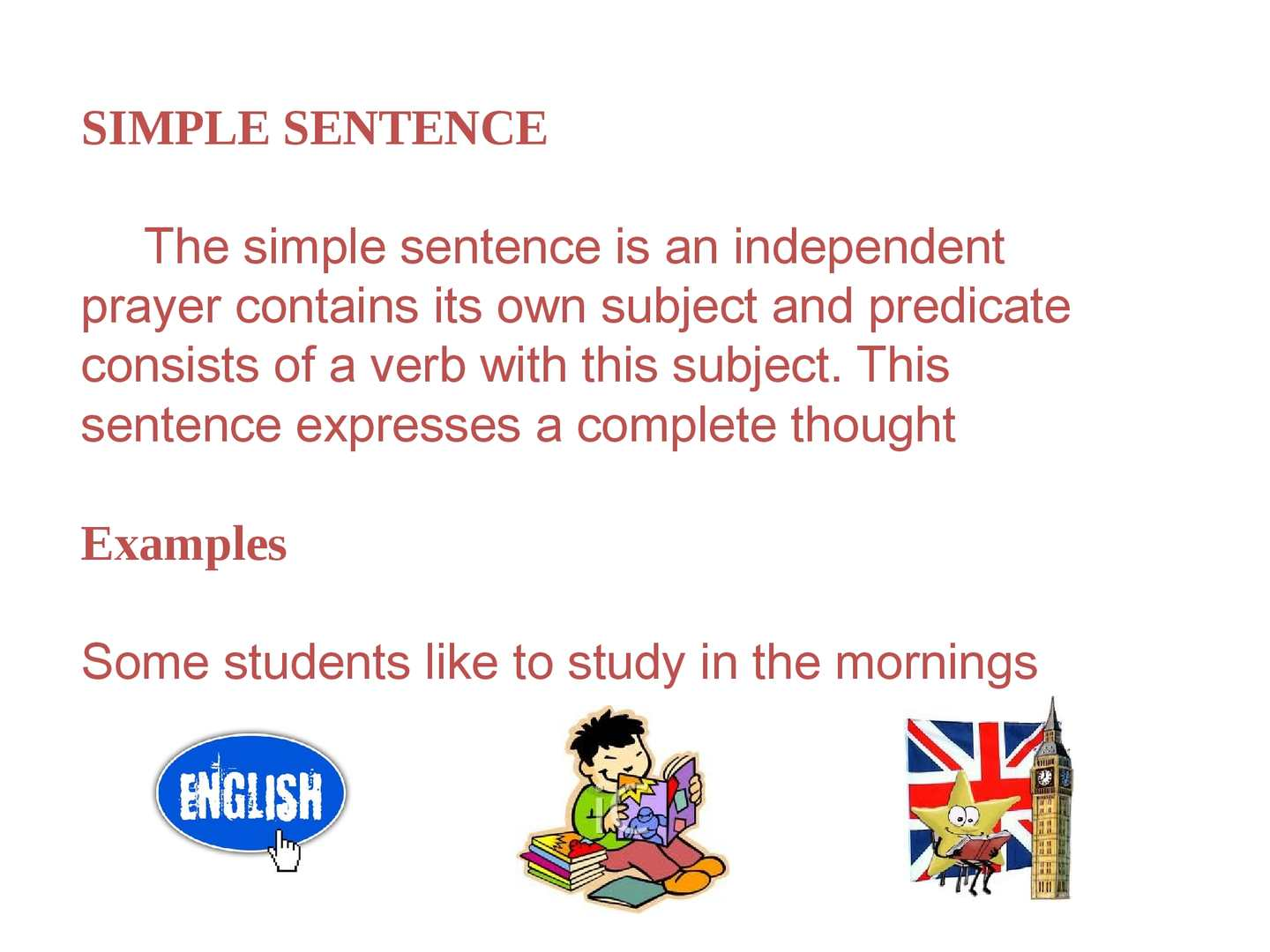 Calamo Simple Sentences Composed And Complex