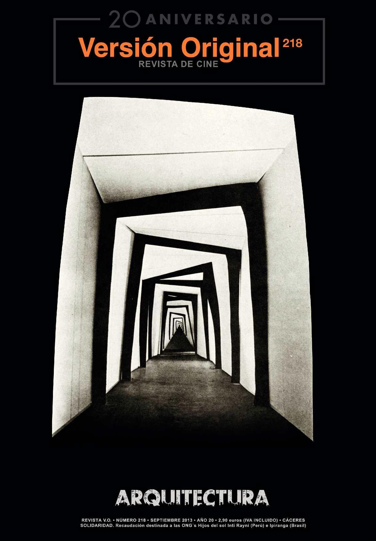 Revista de Cine Versión Original 218. Arquitectura