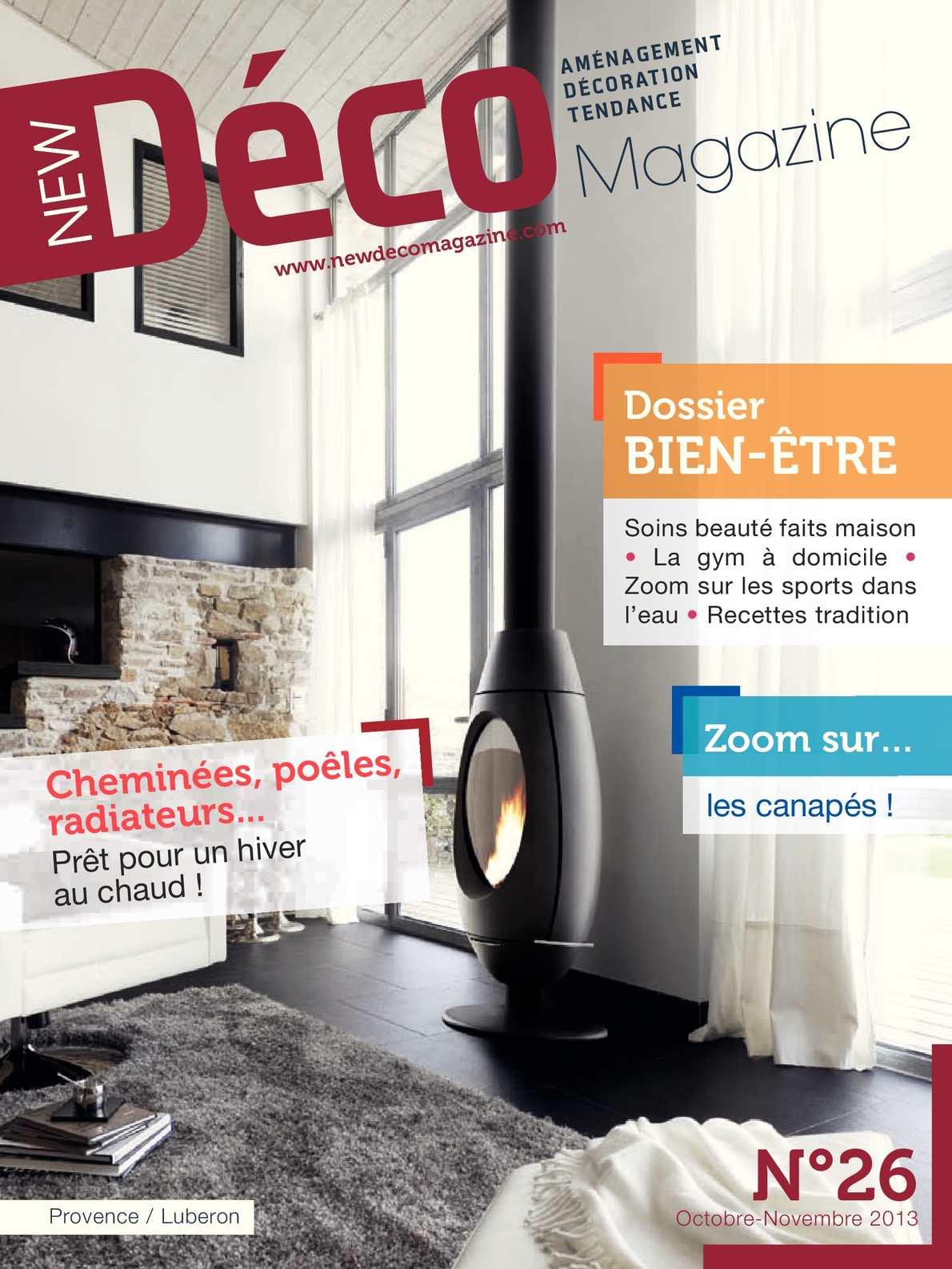 New Déco magazine Octobre Novembre 2013