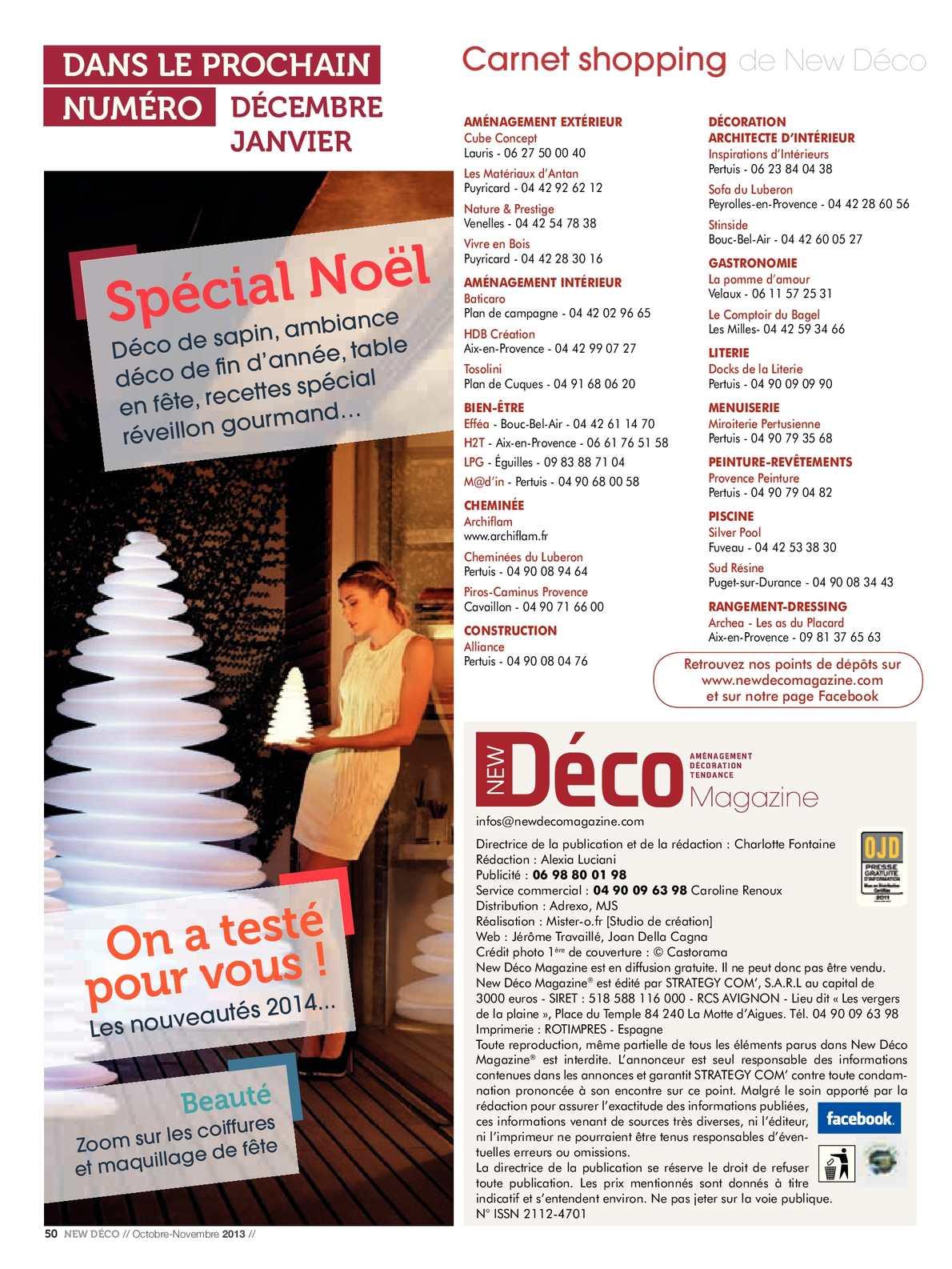 New Deco Magazine Octobre Novembre 2013 Calameo Downloader