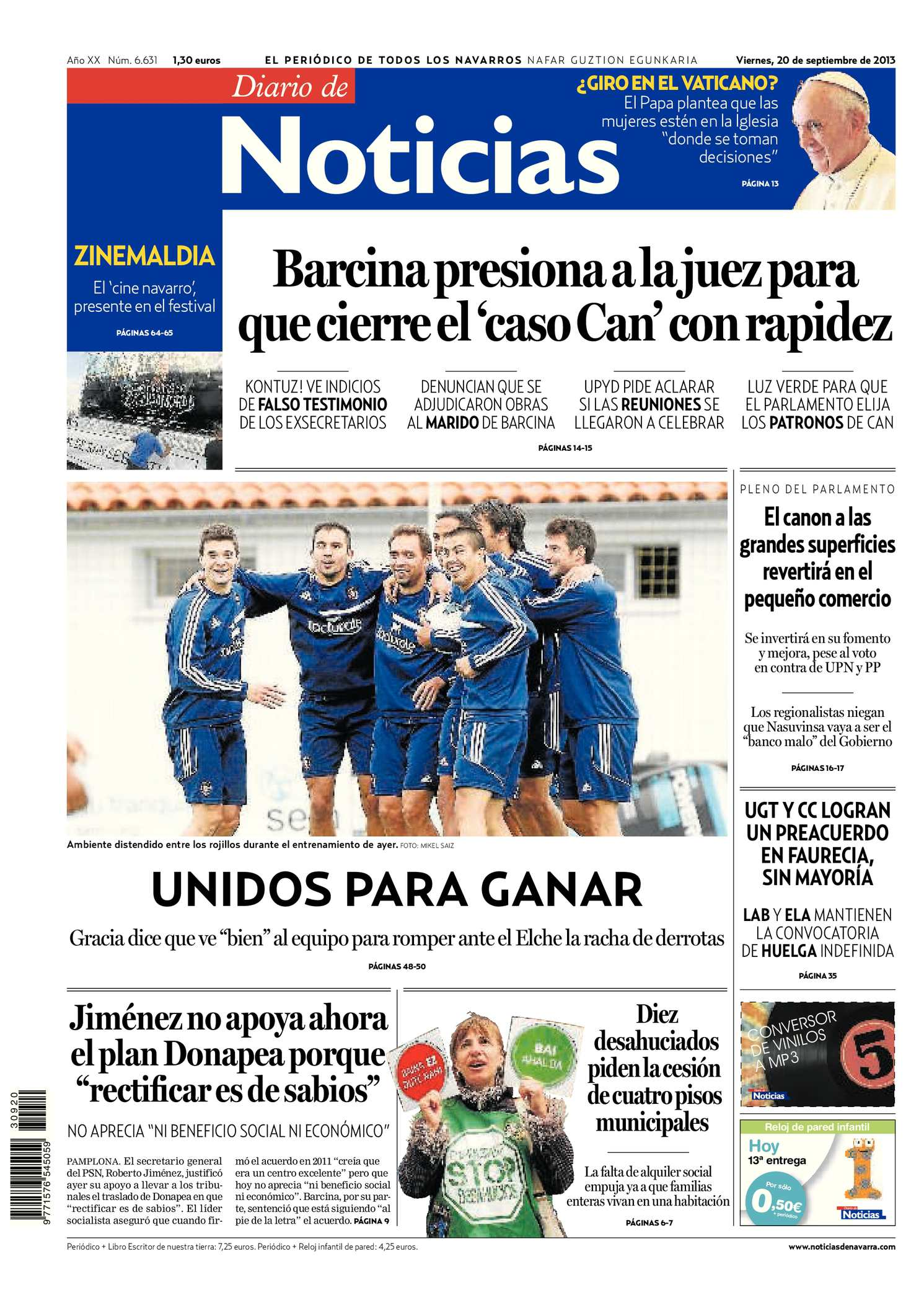 Calaméo - Diario de Noticias 20130920