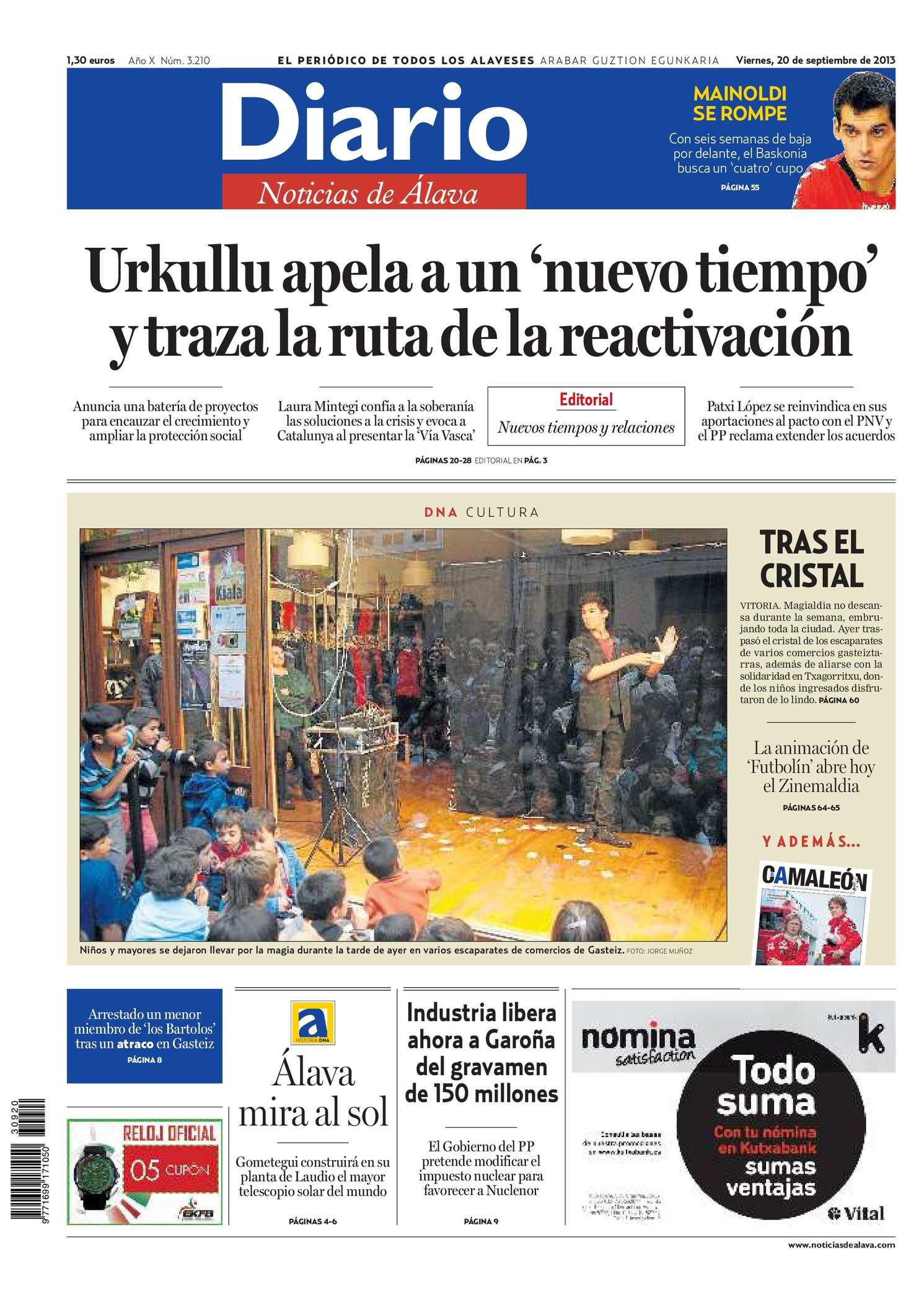 Calaméo - Diario de Noticias de Álava 20130920