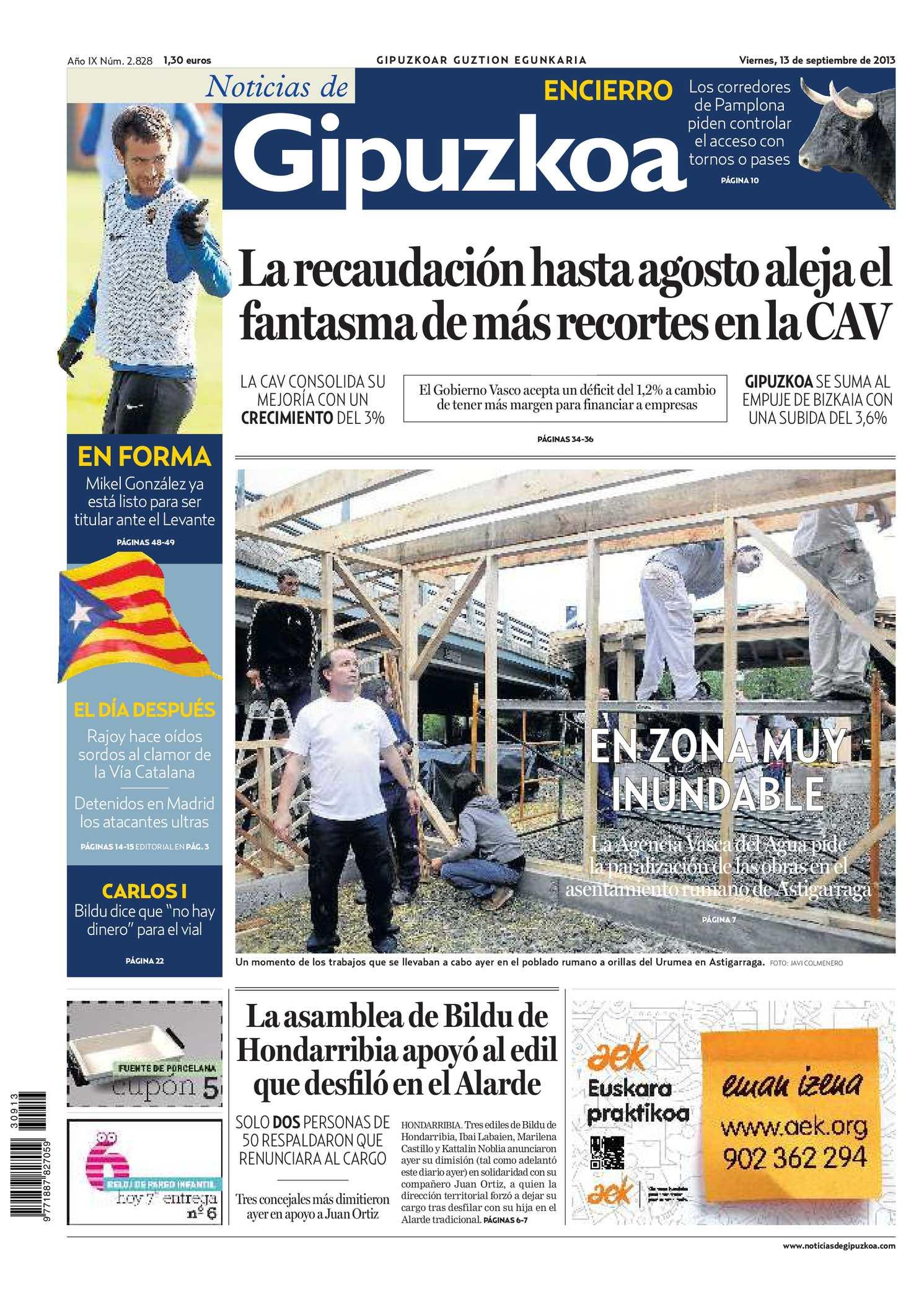 Calaméo - Noticias de Gipuzkoa 20130913