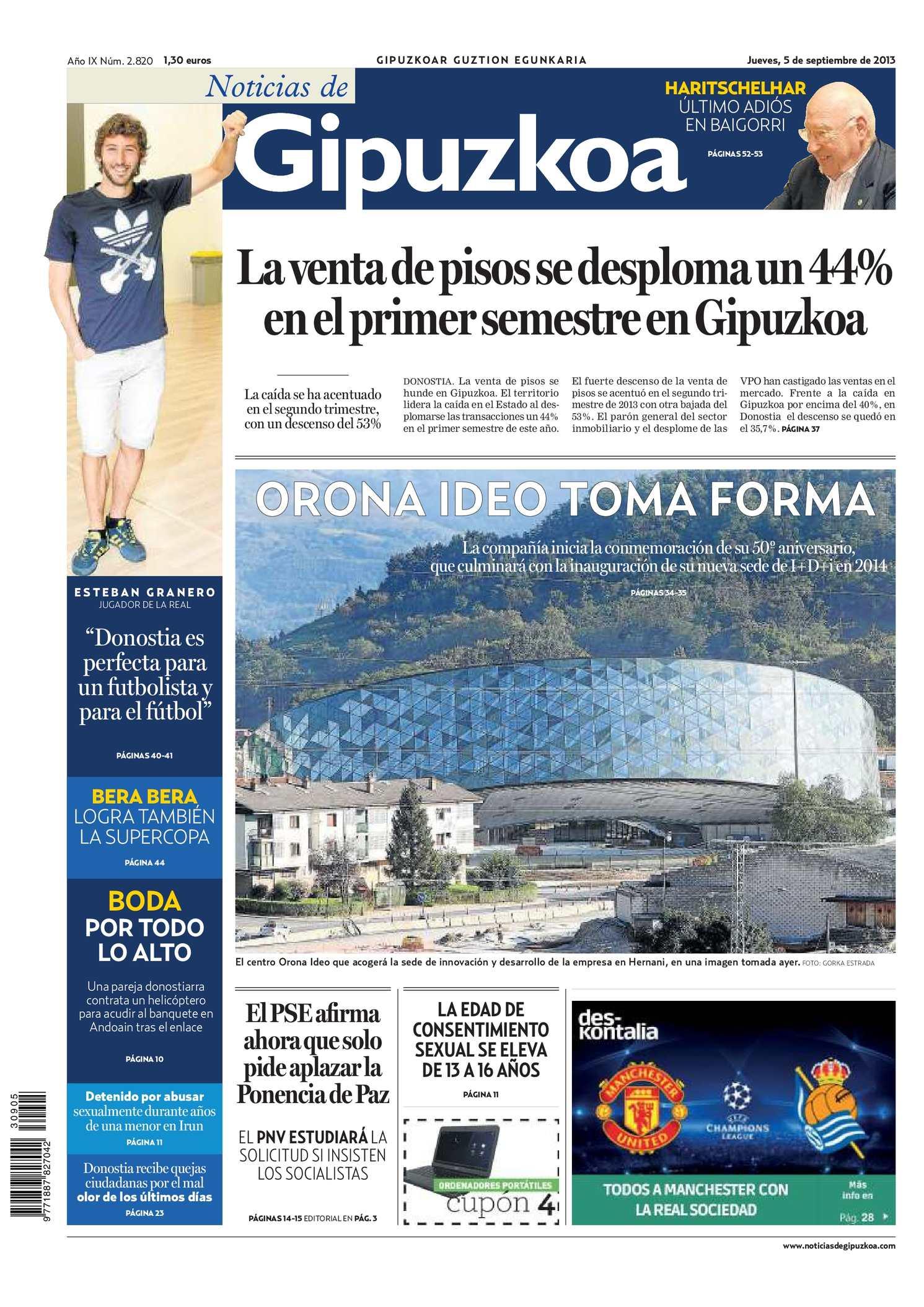 Calaméo - Noticias de Gipuzkoa 20130905