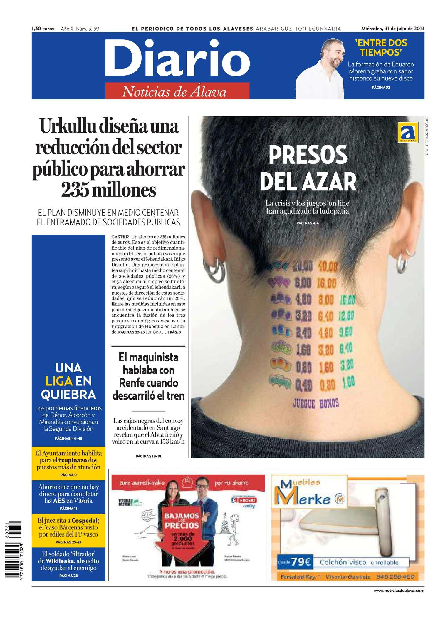 Calaméo - Diario de Noticias de Álava 20130731