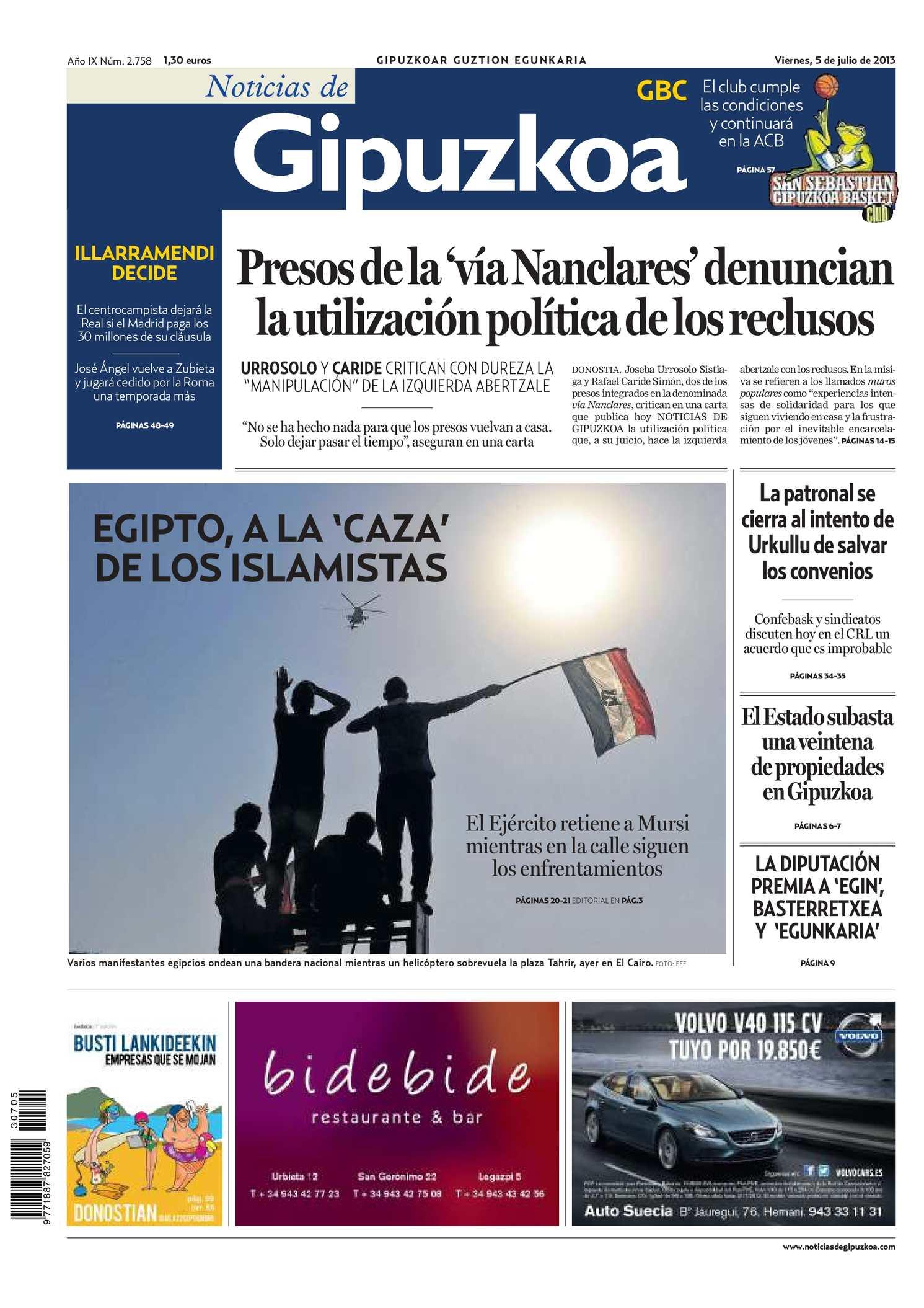 Calaméo - Noticias de Gipuzkoa 20130705