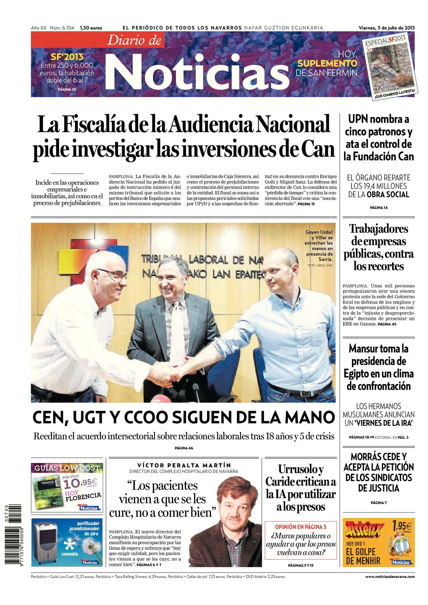 Calaméo - Diario de Noticias 20130705