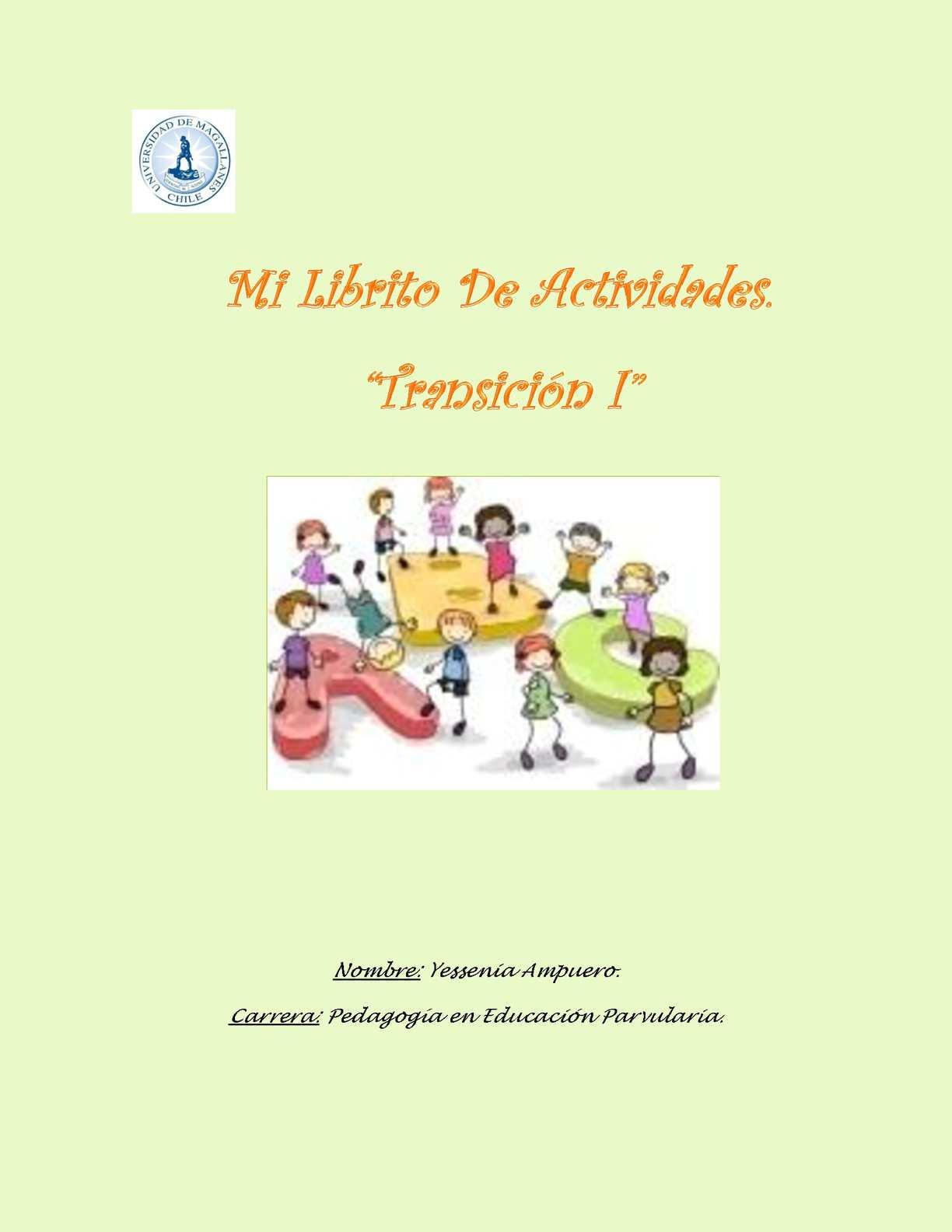 colección de actividades para alumnos de enseñanza pre-escolar