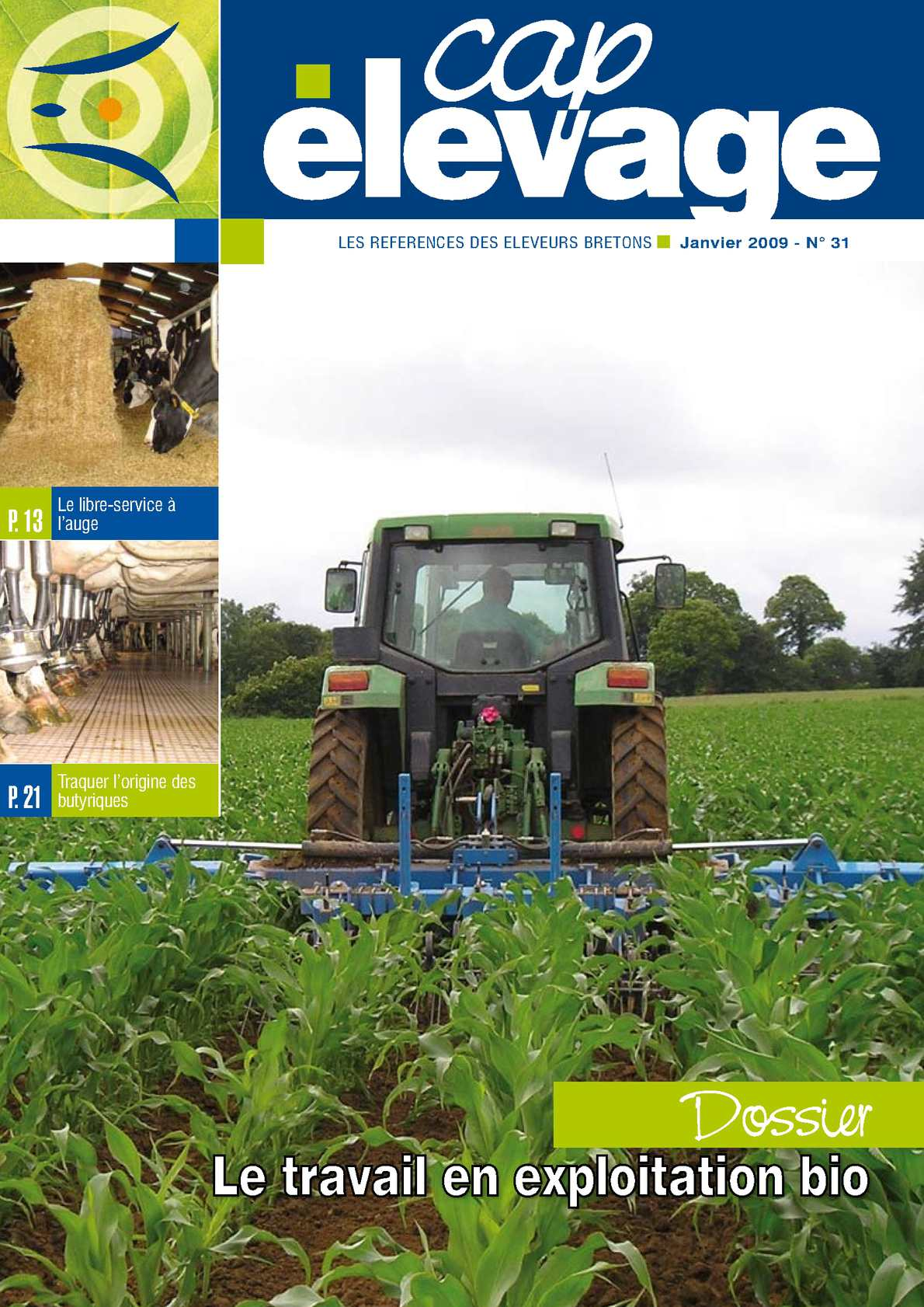 Calam o cap elevage n 31 for Chambre agriculture bretagne