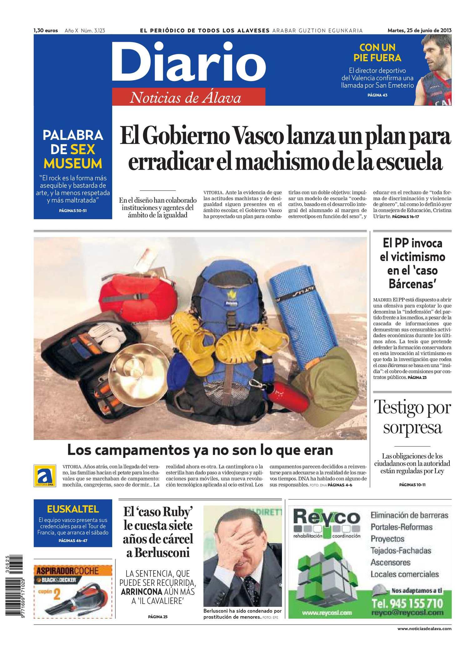 Calaméo - Diario de Noticias de Álava 20130625