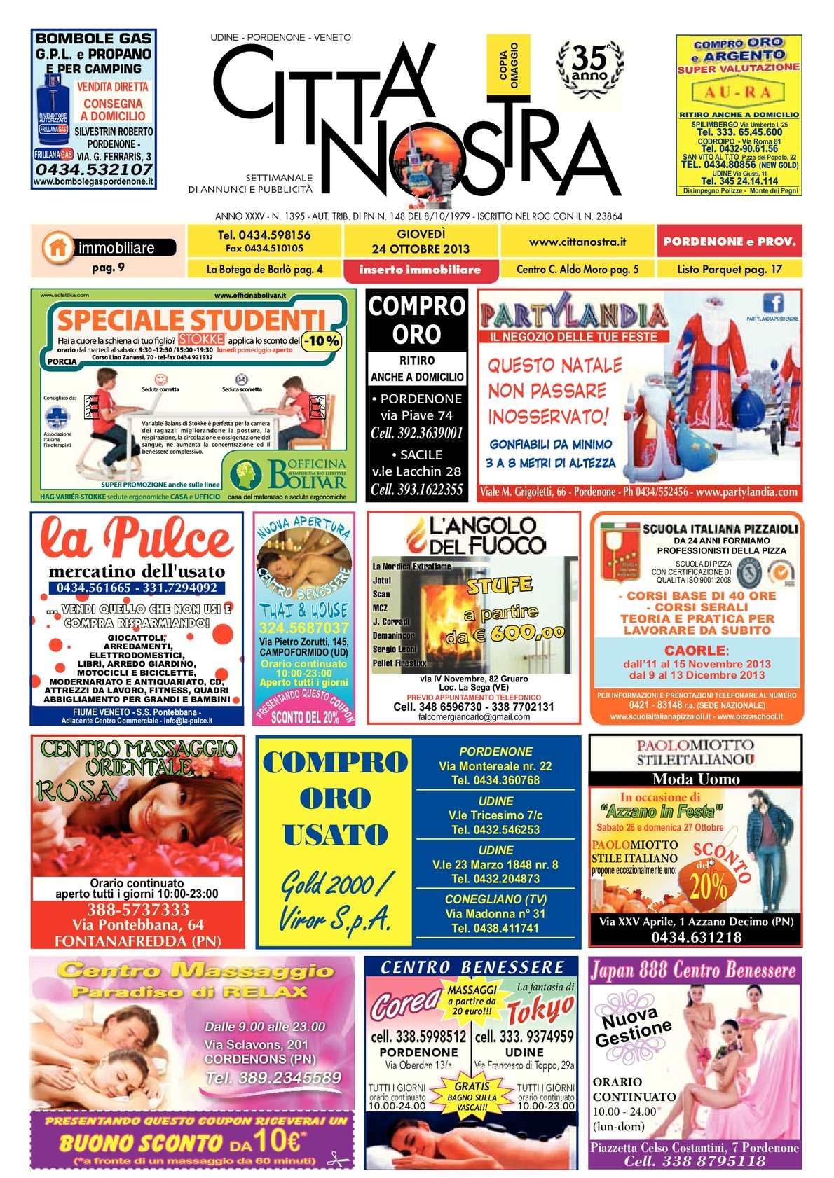 calaméo - città nostra pordenone del 24.10.2013 n. 1395 - La Sede Del Progetto E Larredamento Propan