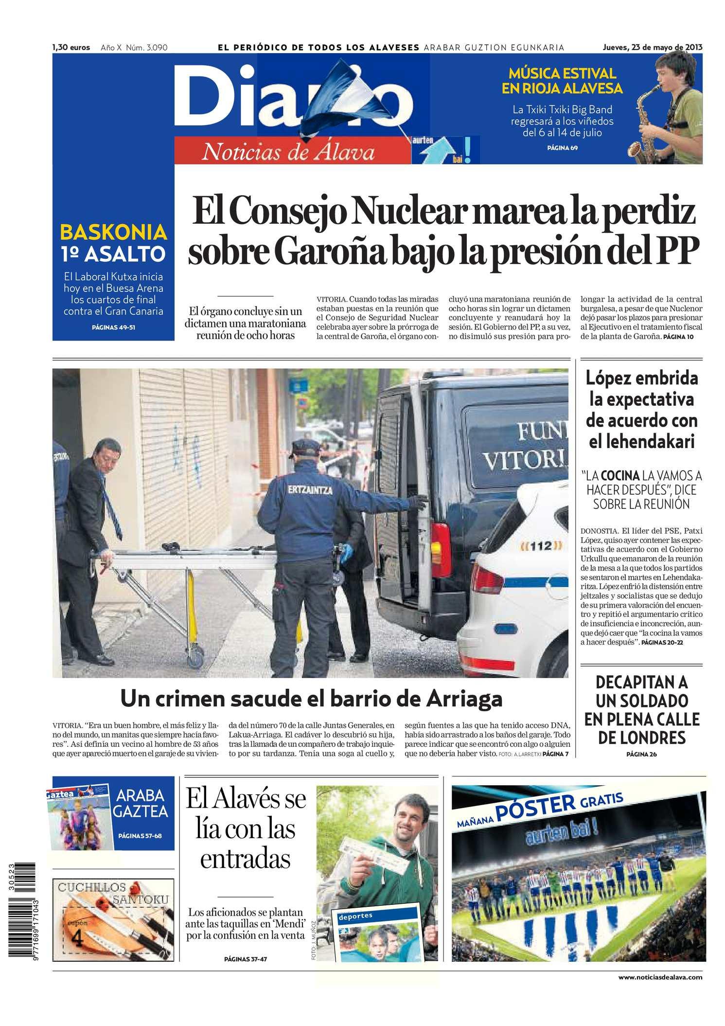 Calaméo - Diario de Noticias de Álava 20130523
