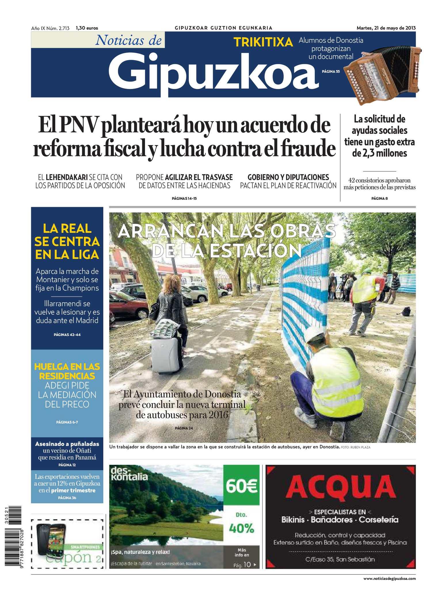 Calaméo - Noticias de Gipuzkoa 20130521