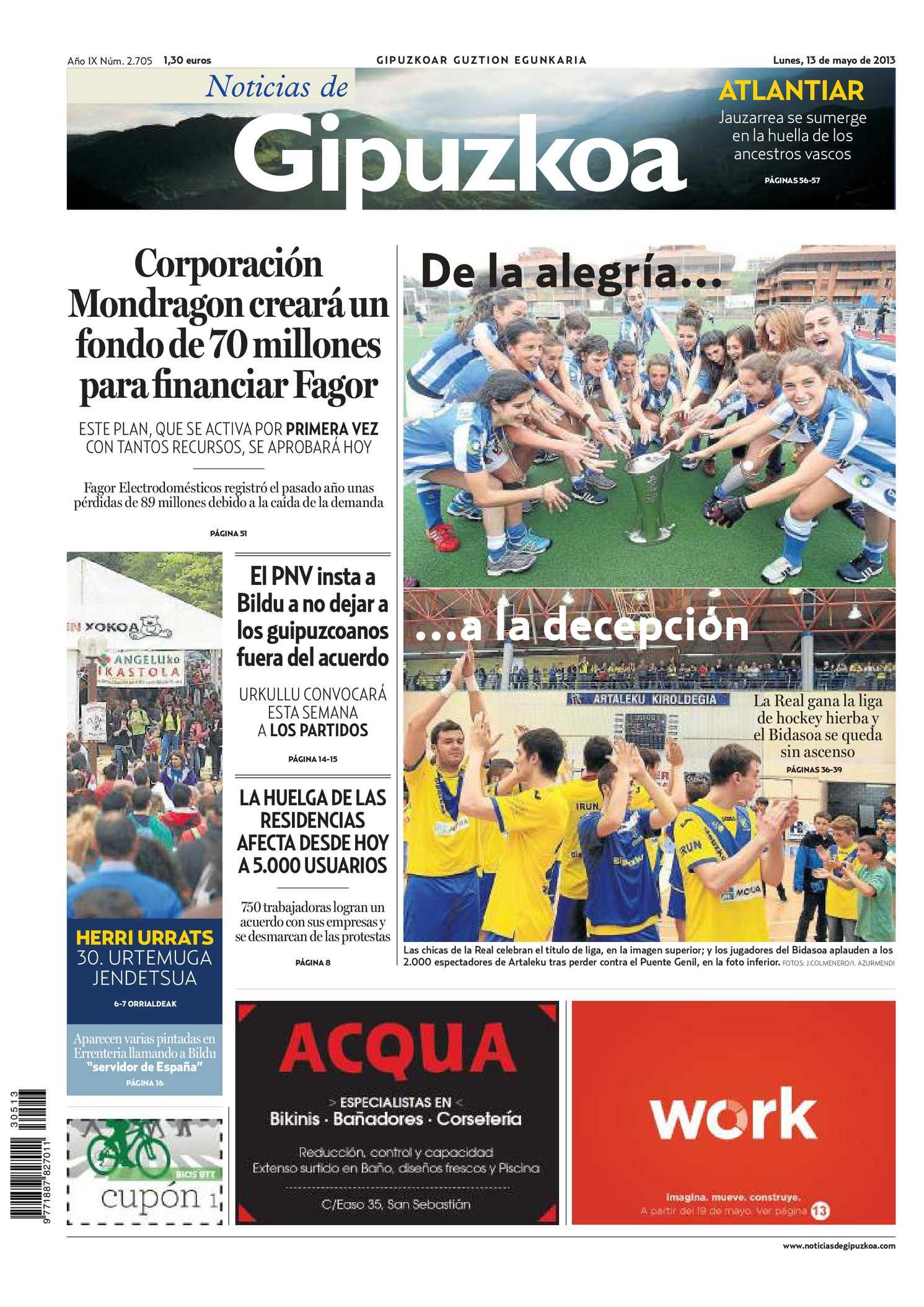 Calaméo - Noticias de Gipuzkoa 20130513