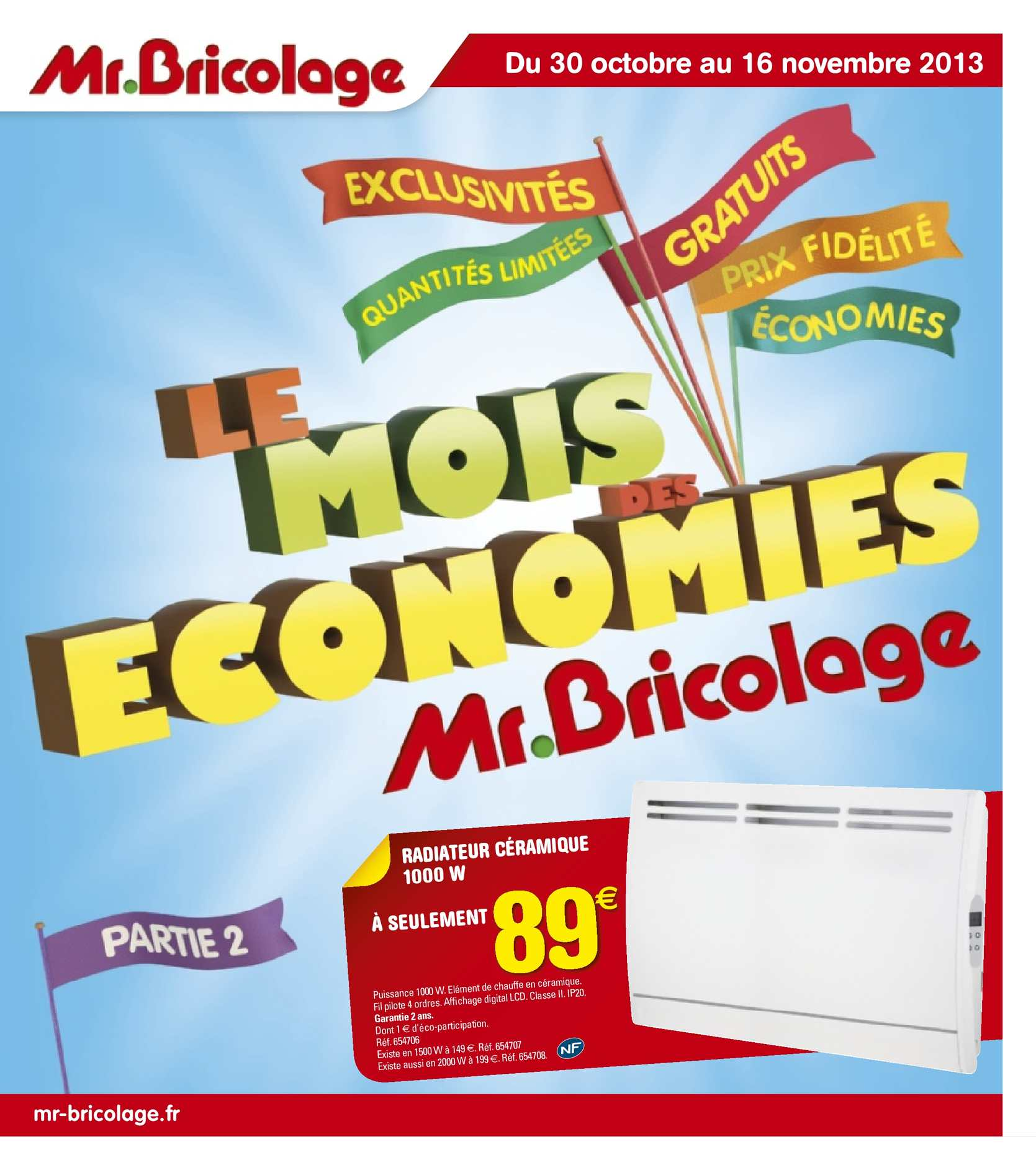 Free Mr Bricolage Carte Fidlit With