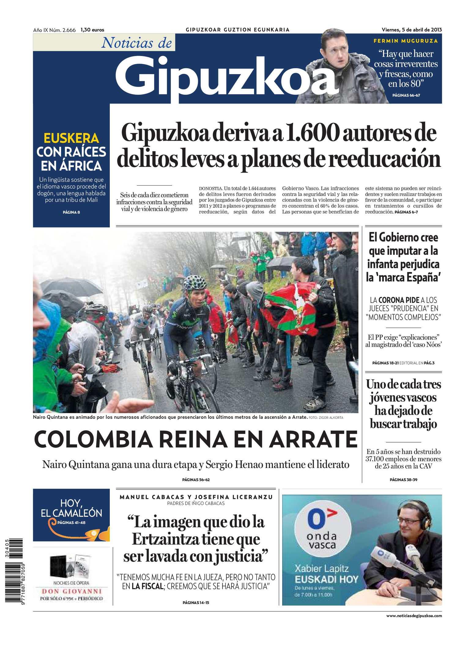 Calaméo - Noticias de Gipuzkoa 20130405