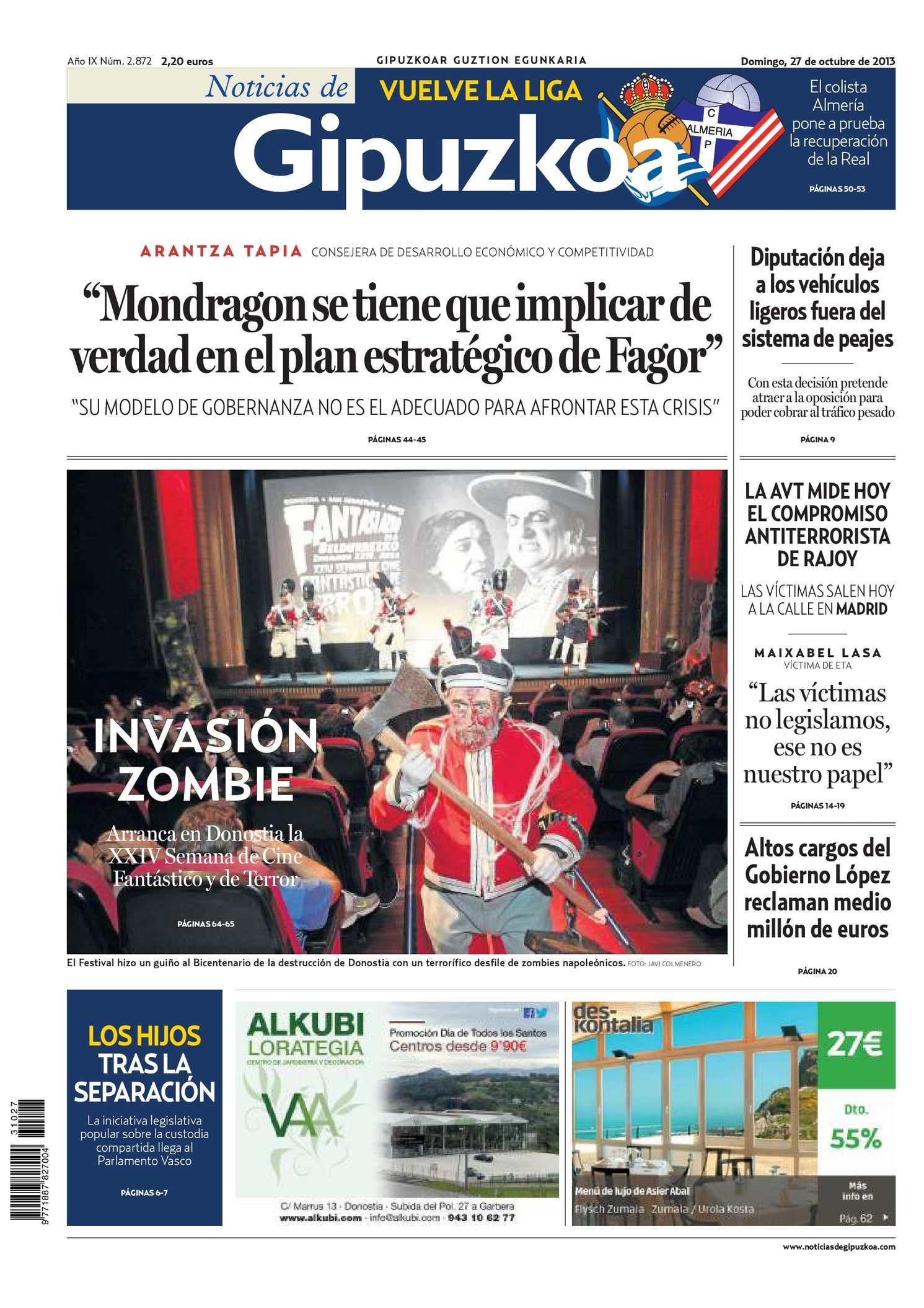 1e4074b818 Calaméo - Noticias de Gipuzkoa 20131027