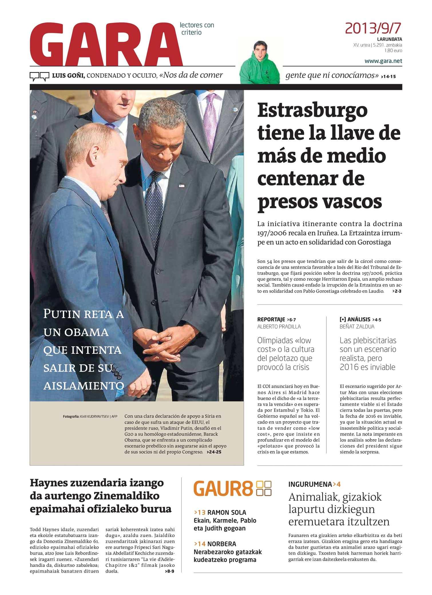 Calaméo - GARA 20130907