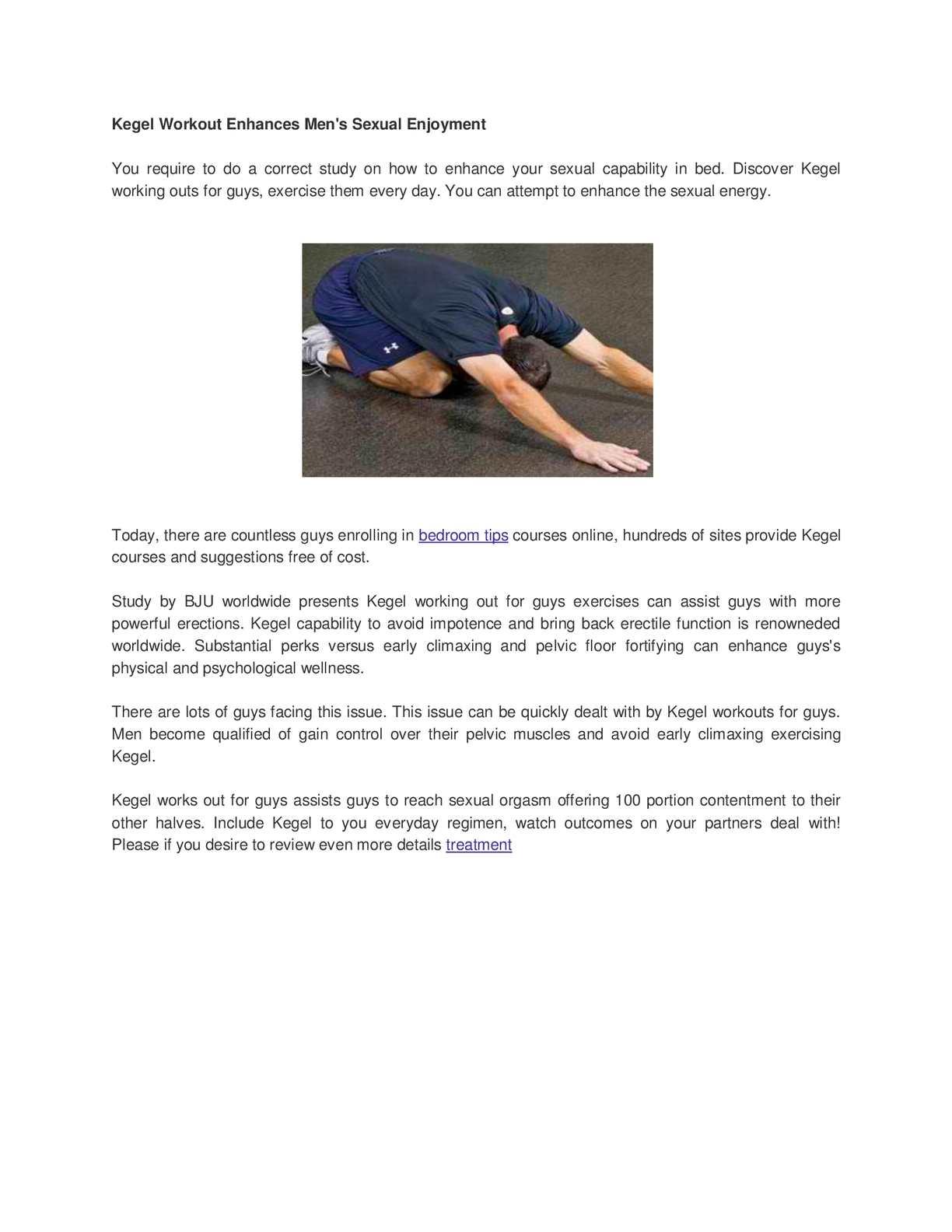 kegel exercises for men really work