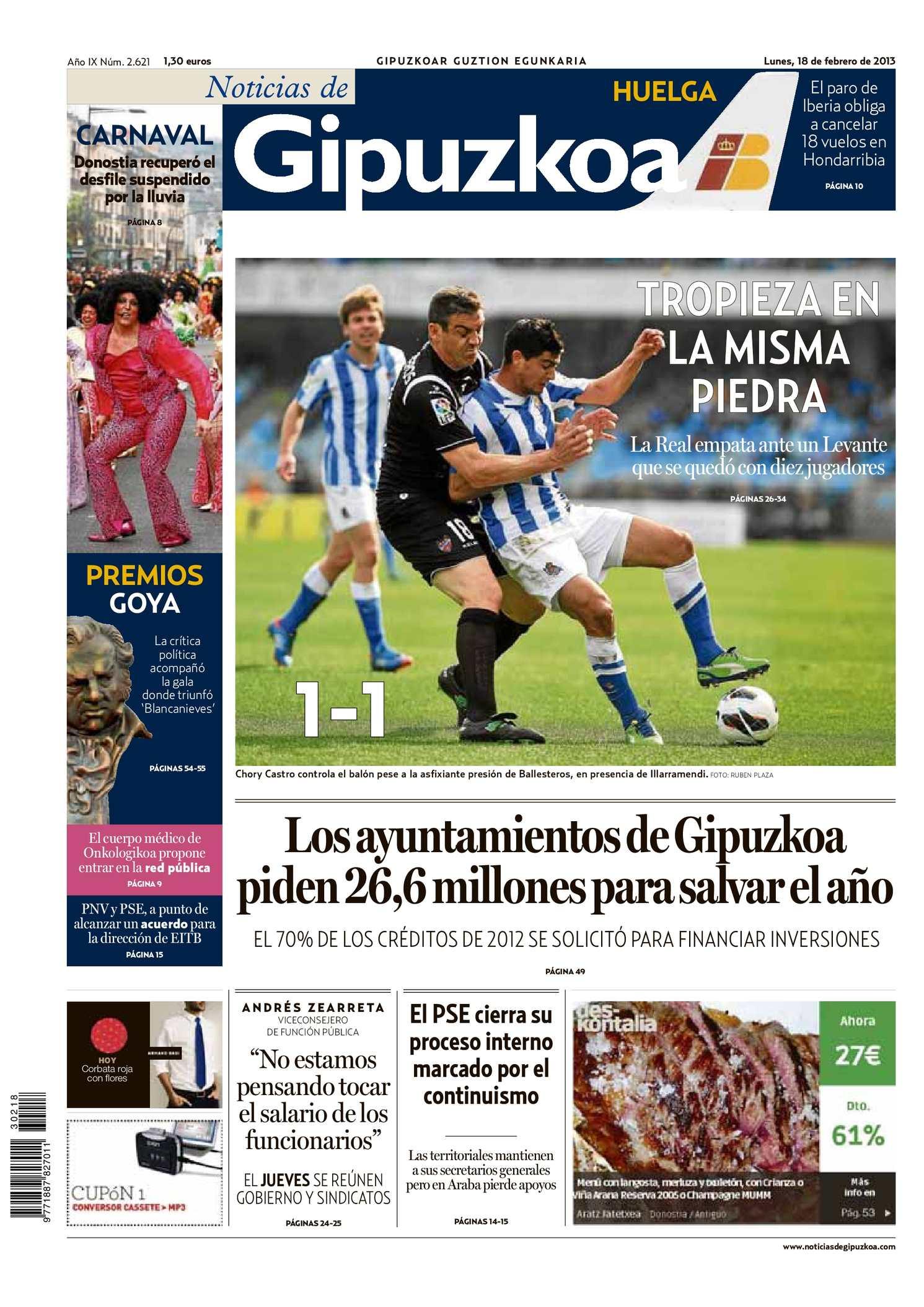 Calaméo - Noticias de Gipuzkoa 20130218