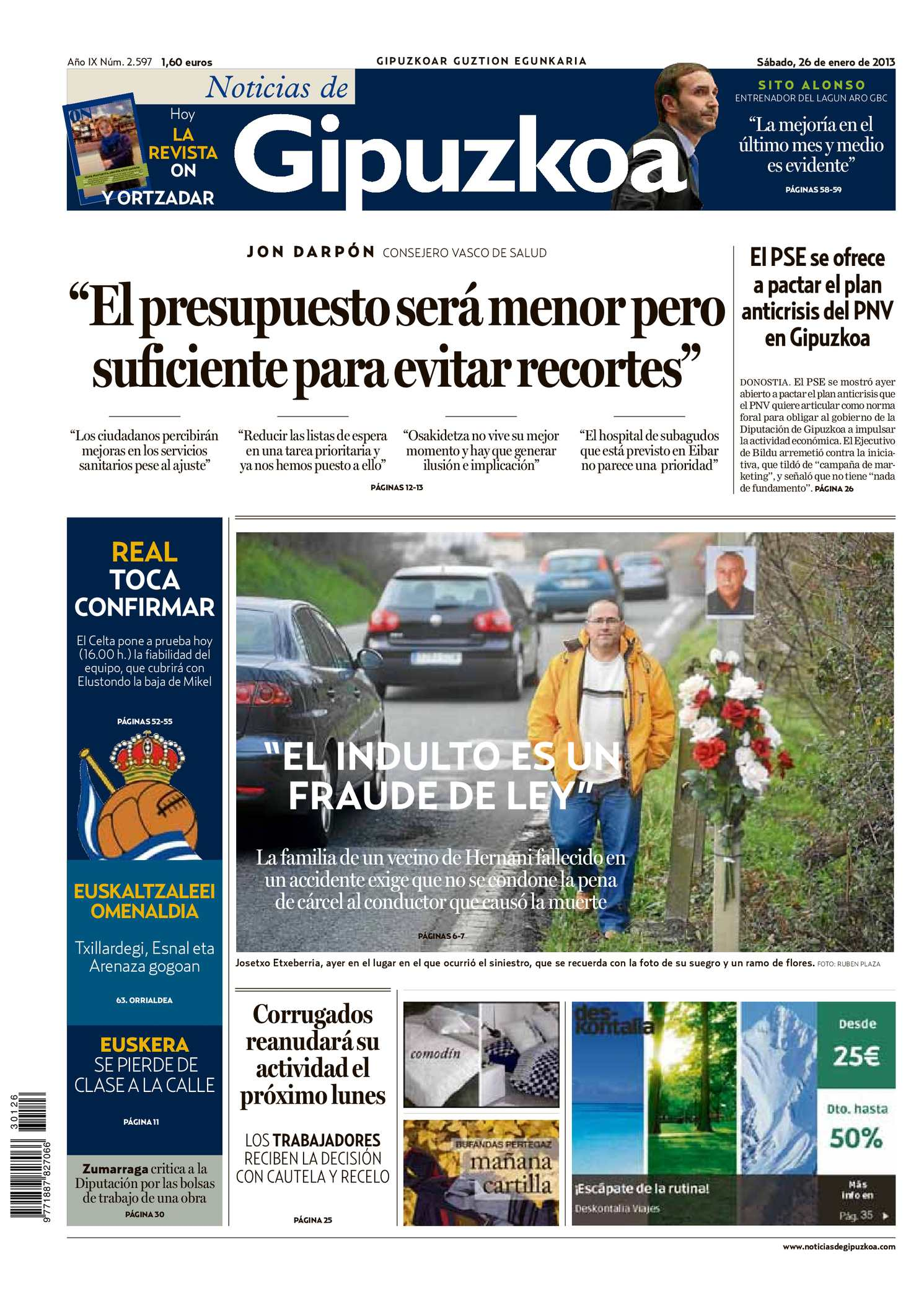 Calaméo - Noticias de Gipuzkoa 20130126