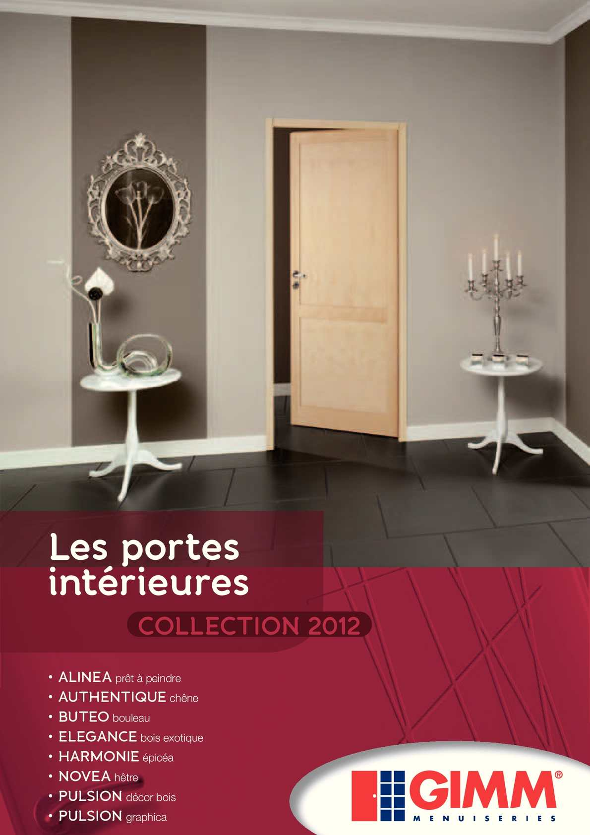 Calam o catalogue blocs portes gimm for Catalogue staff decor pdf