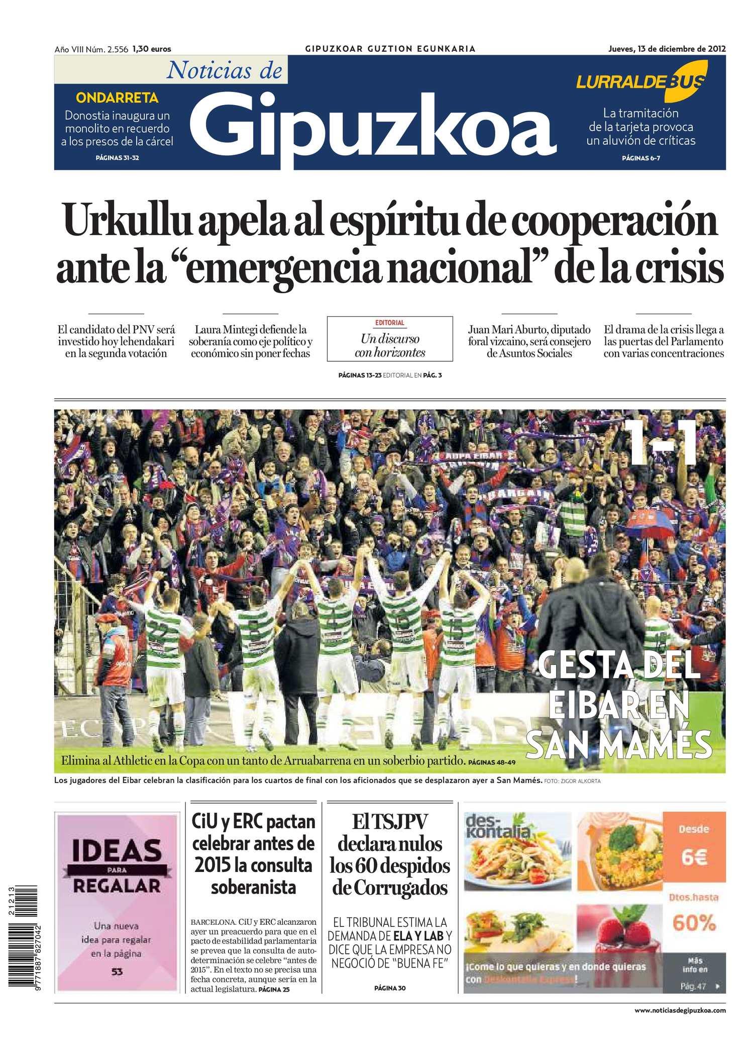 Calaméo - Noticias de Gipuzkoa 20121213