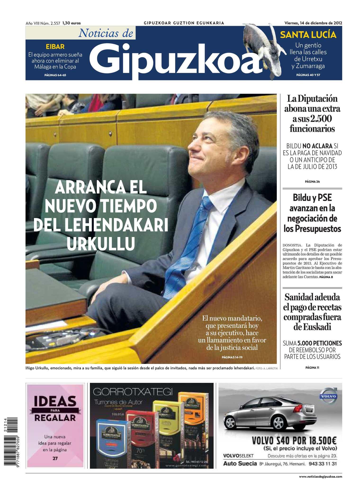 Calaméo - Noticias de Gipuzkoa 20121214