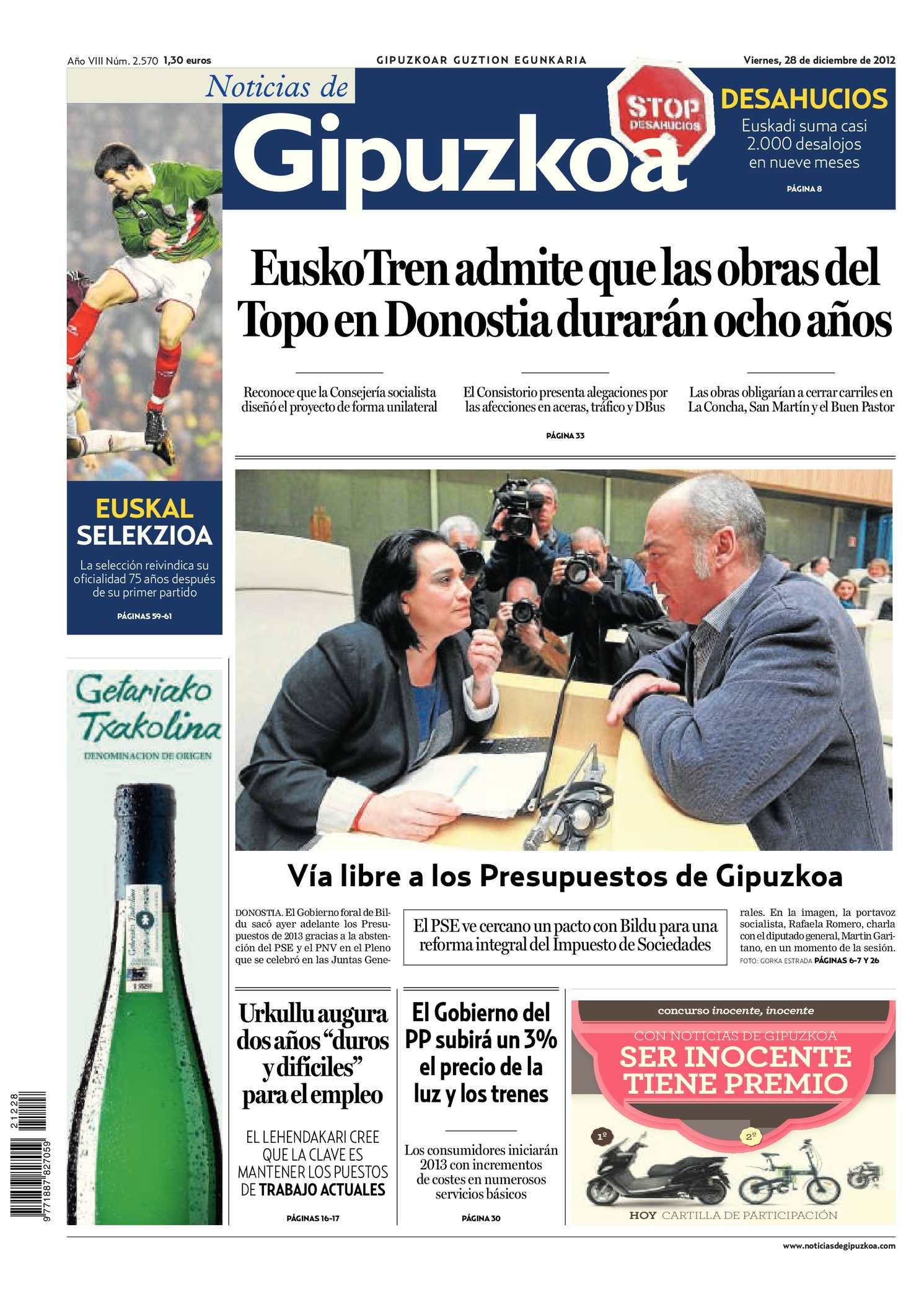Calaméo - Noticias de Gipuzkoa 20121228