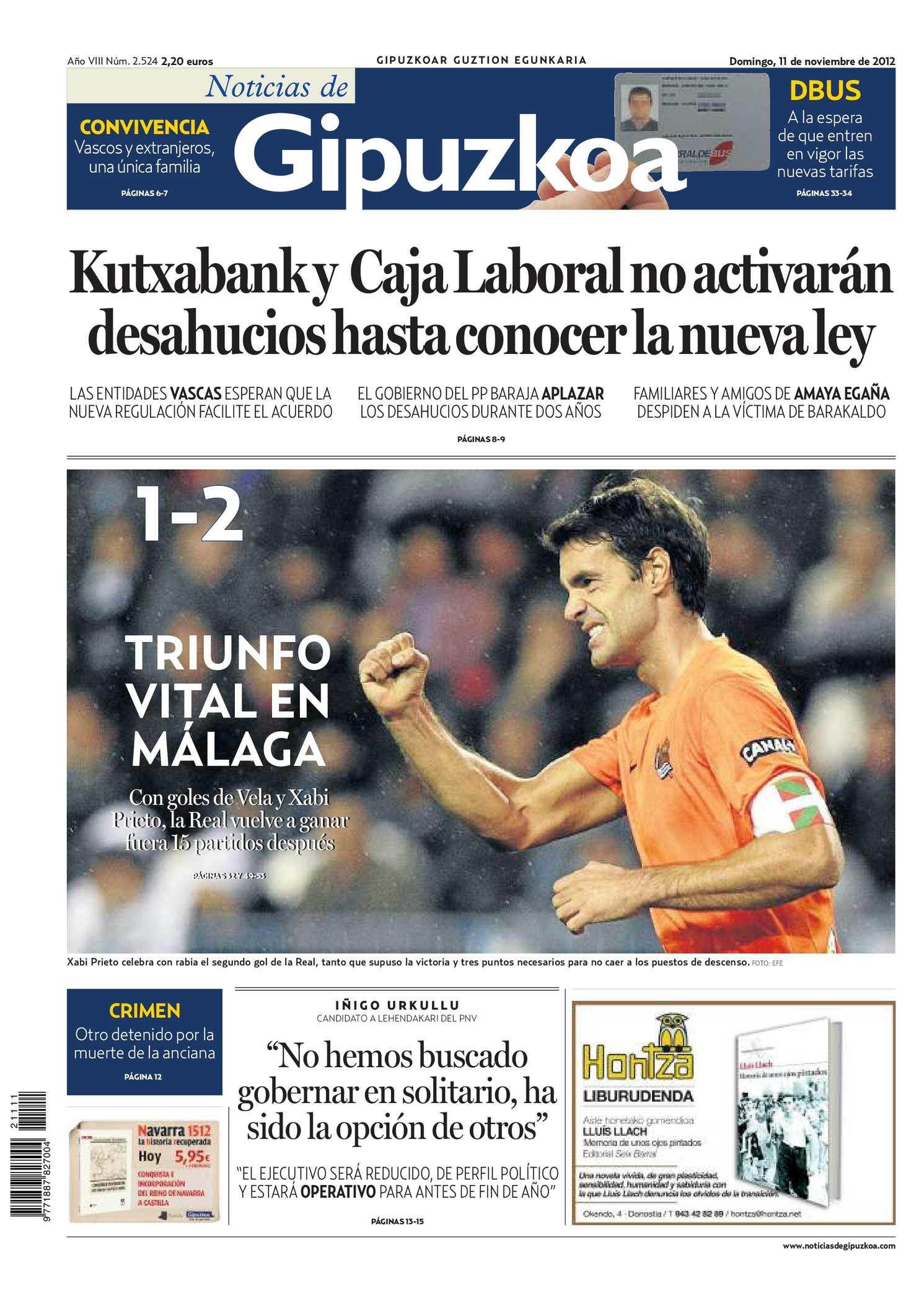 Calaméo - Noticias de Gipuzkoa 20121111