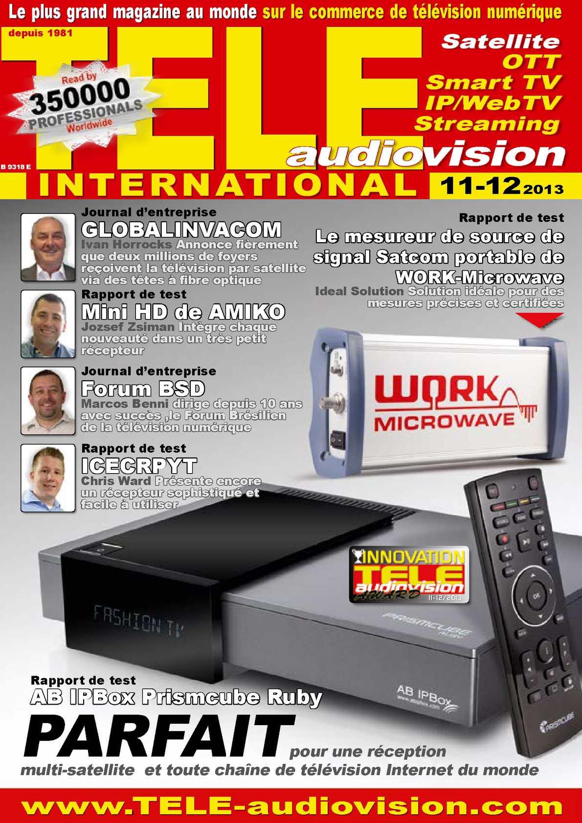 Fra TELE Audiovision 1311