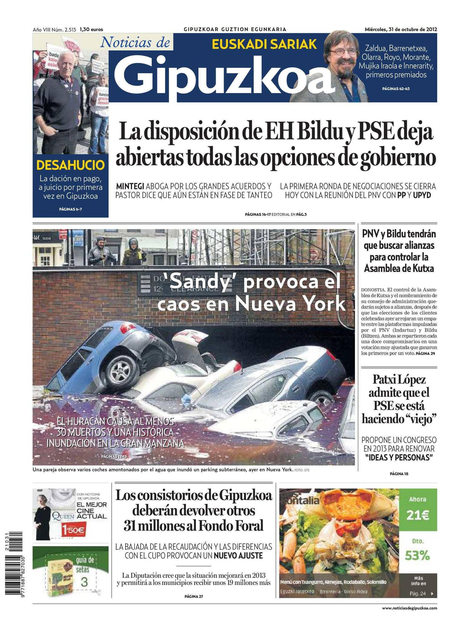 Calaméo - Noticias de Gipuzkoa 20121031