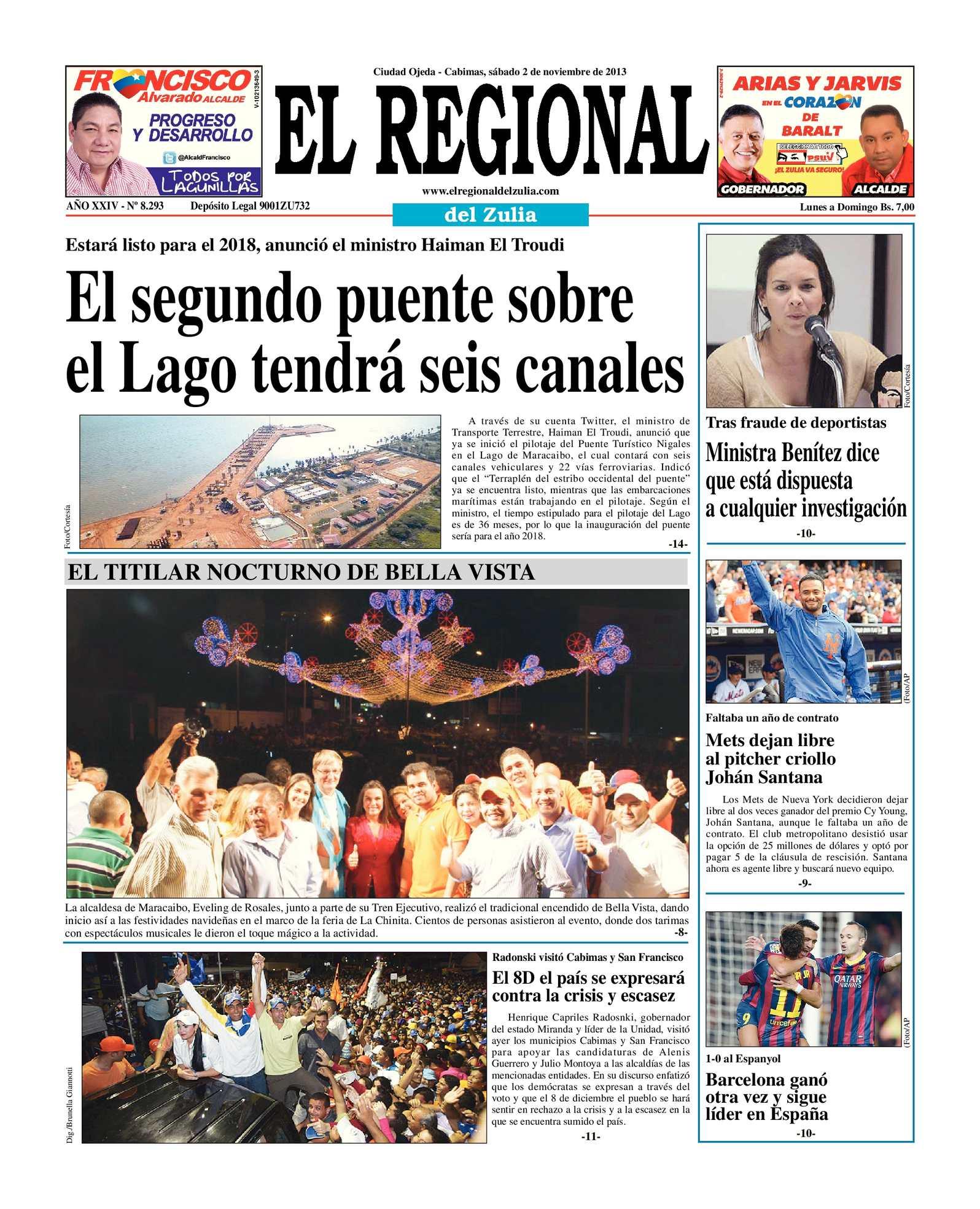 Calaméo - El Regional del Zulia 02-11-2013