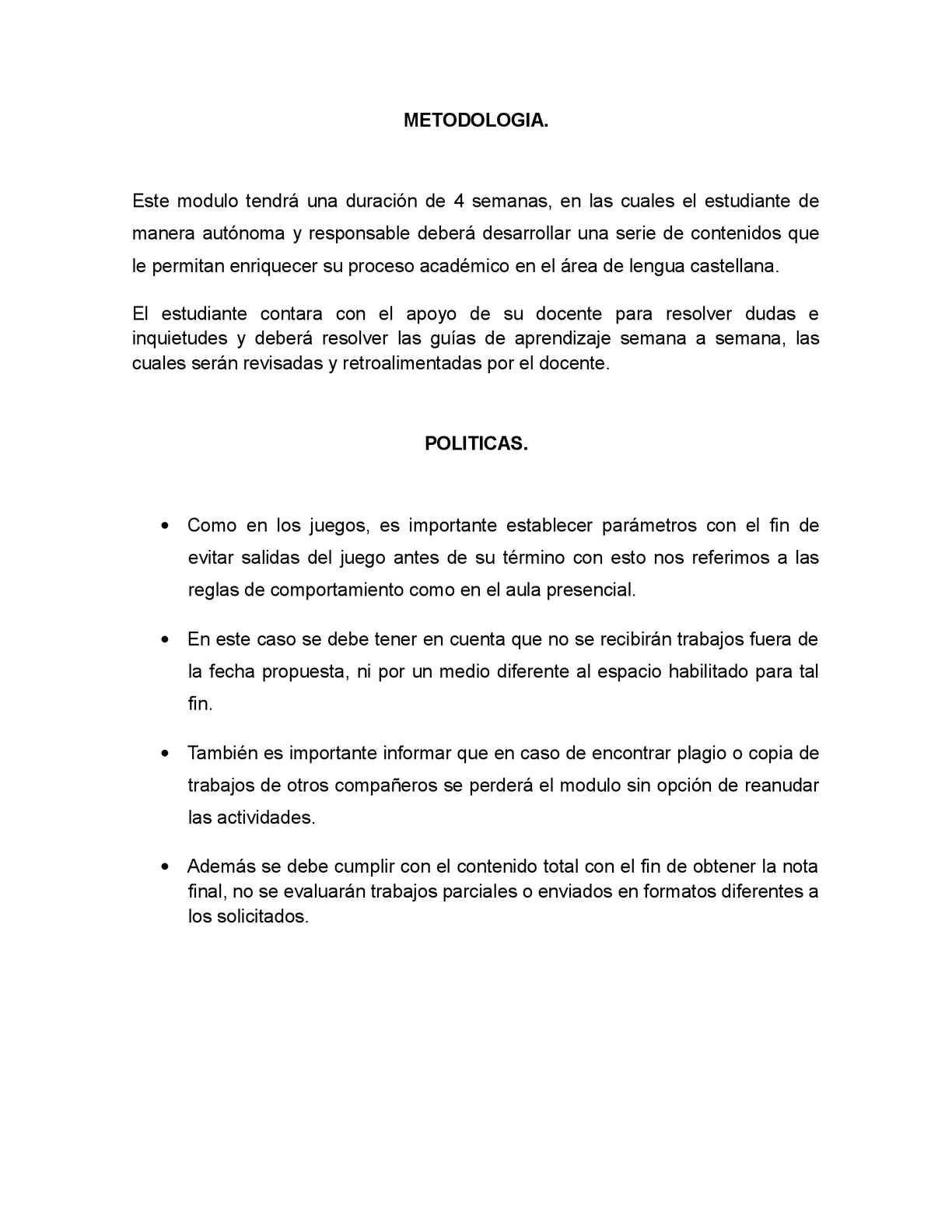 Calaméo - Metodología y politicas del taller.