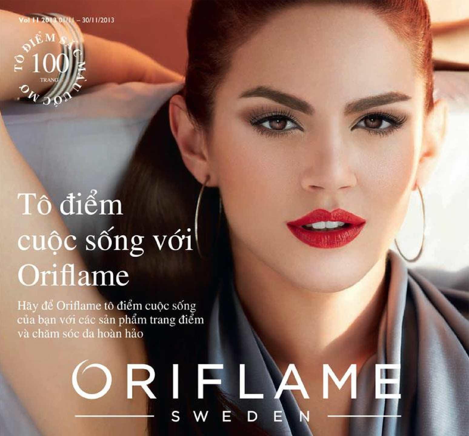 Catalogue My Pham Oriflame 11-2013